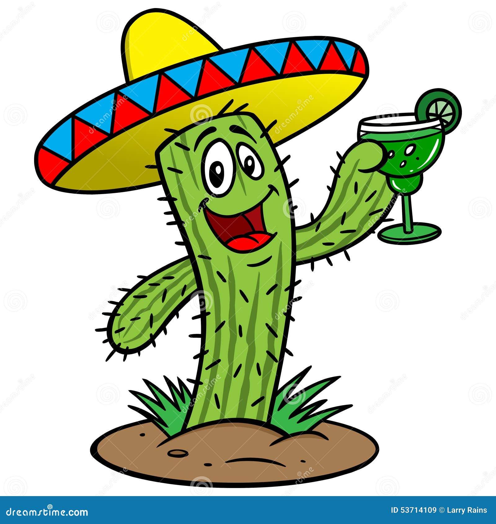 cactus with margarita stock vector image 53714109 margarita clip art free margarita clip art free