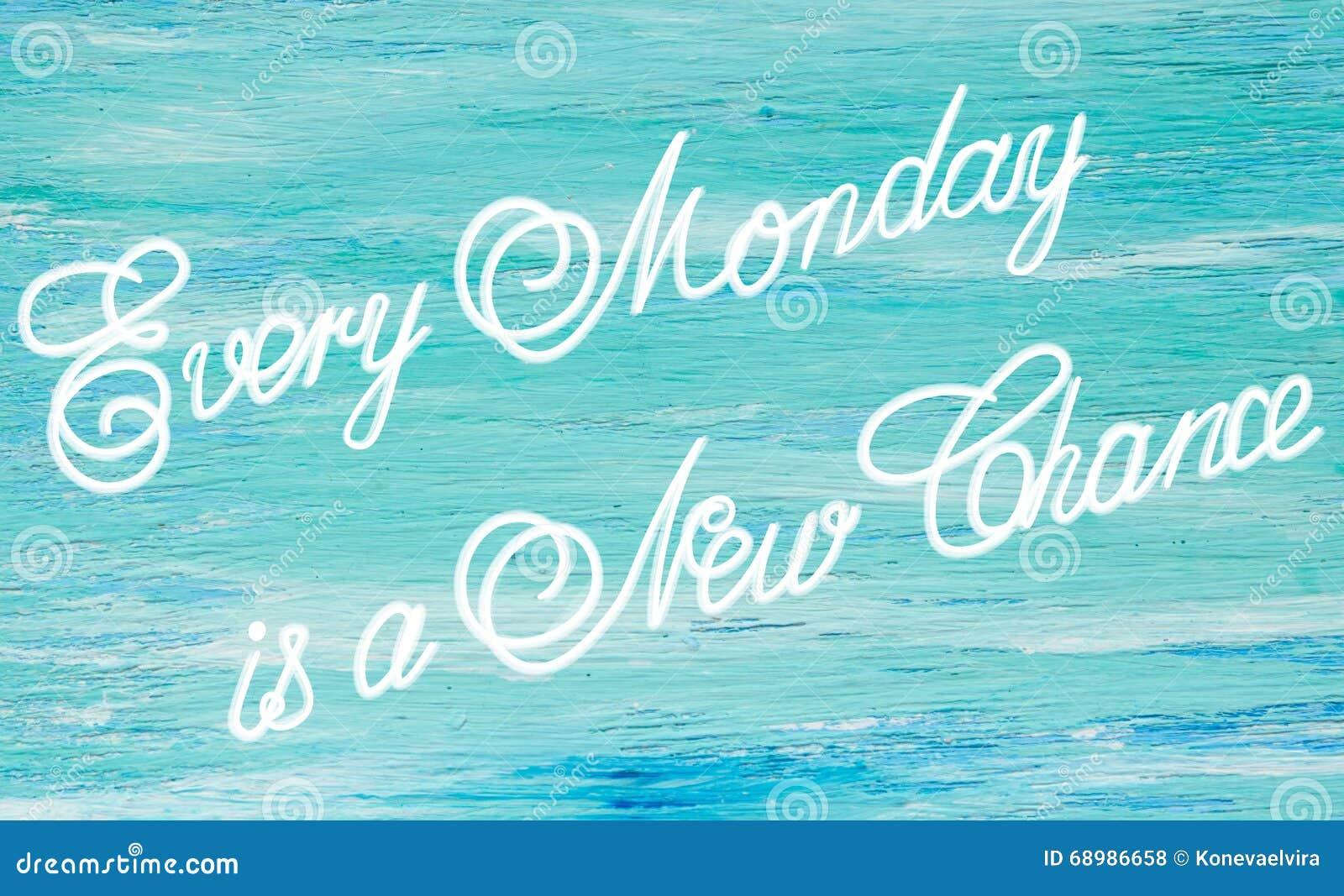 Cada lunes es un nuevo