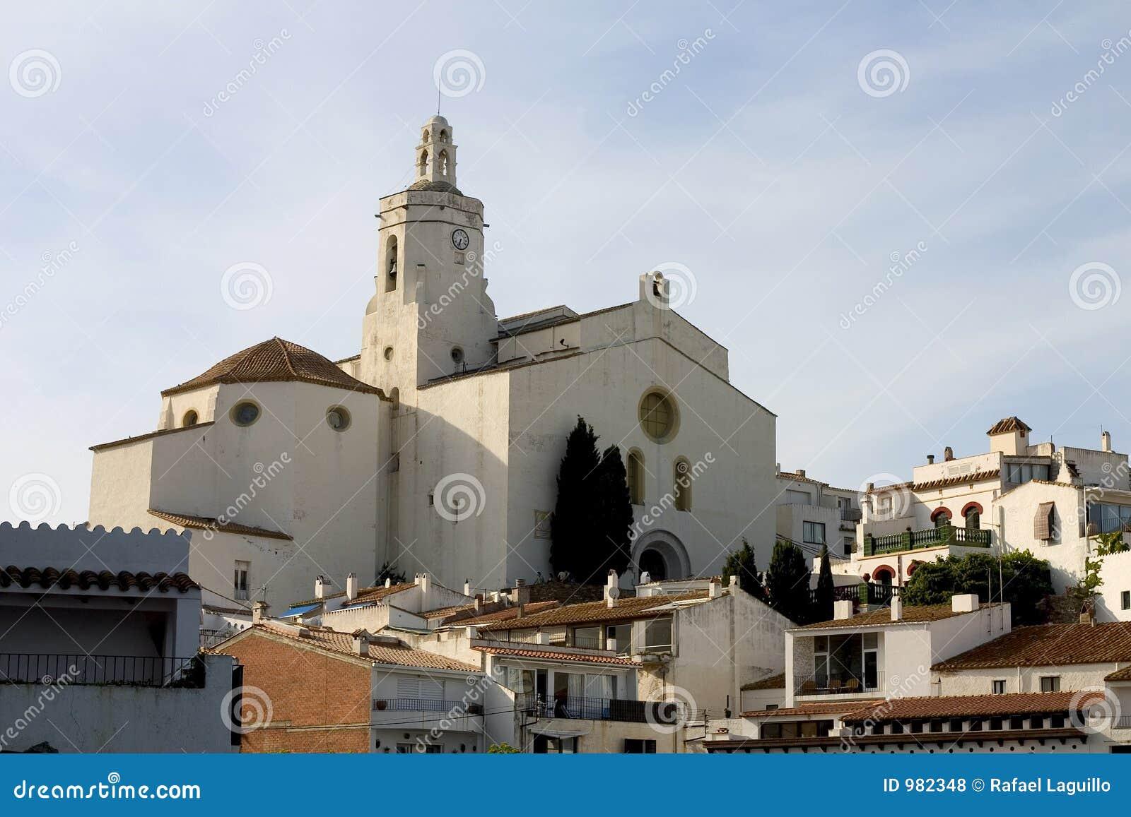 Cadaques church, Catalonia