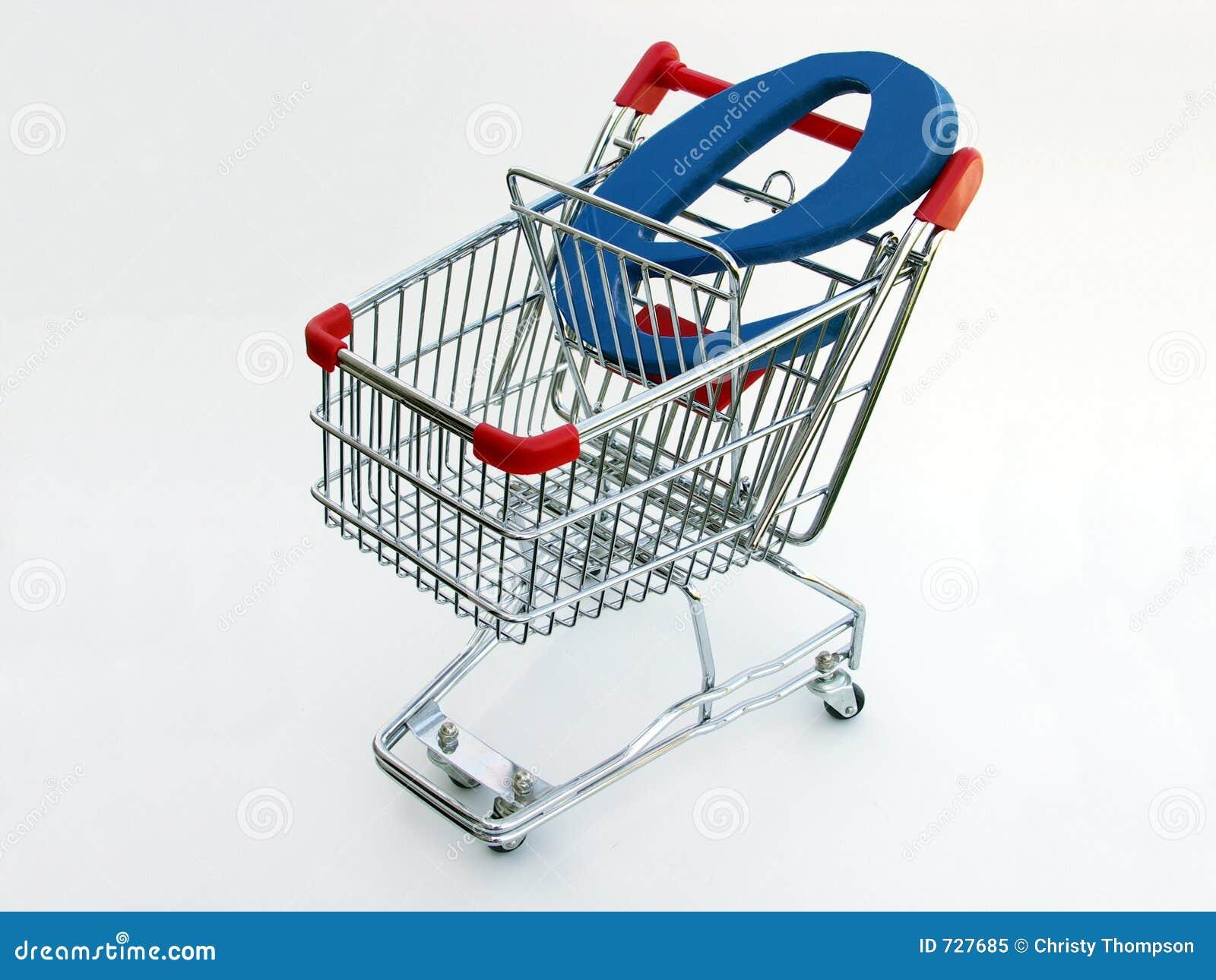 Caddie de commerce électronique (première vue)