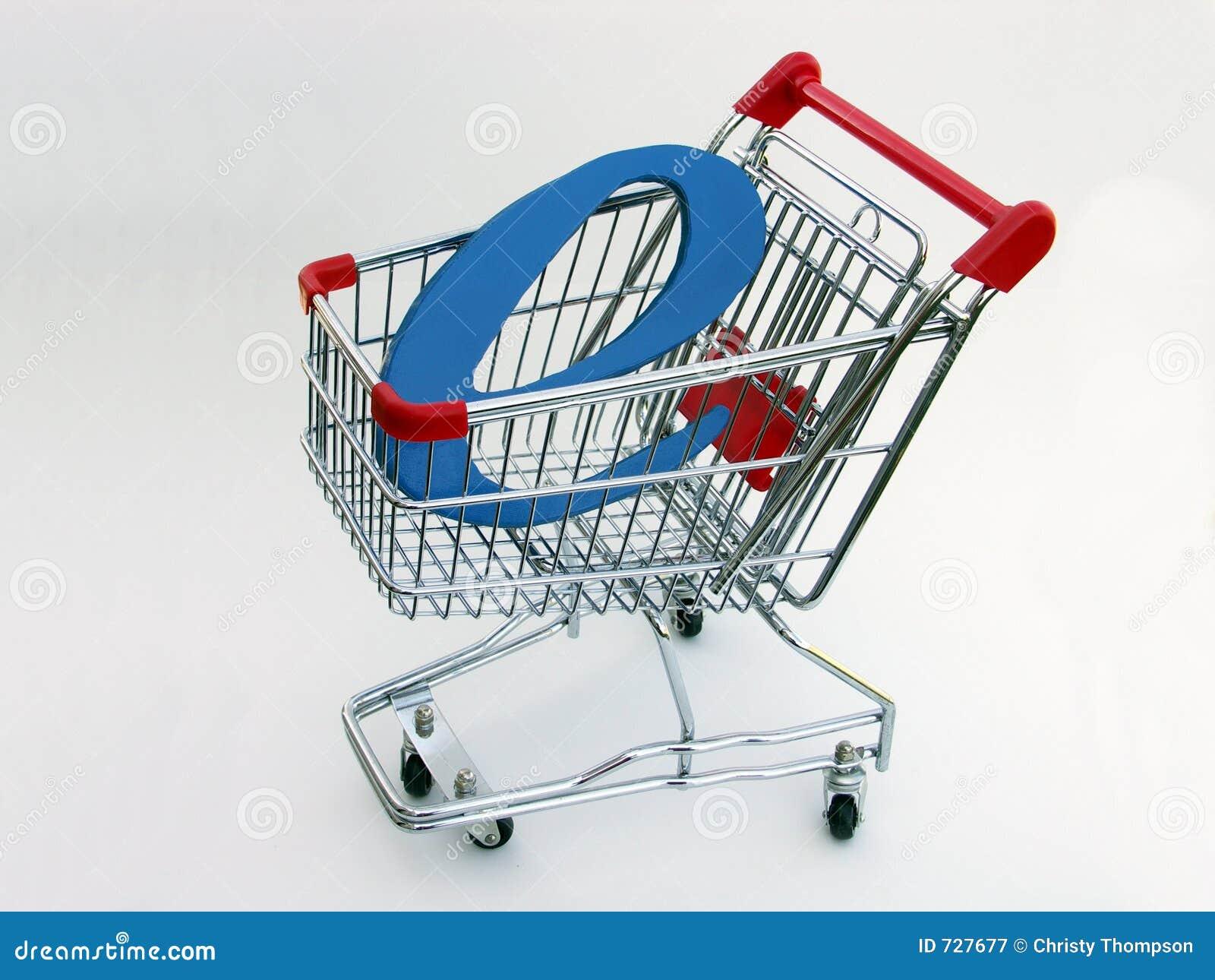 Caddie de commerce électronique (vue de côté) 2