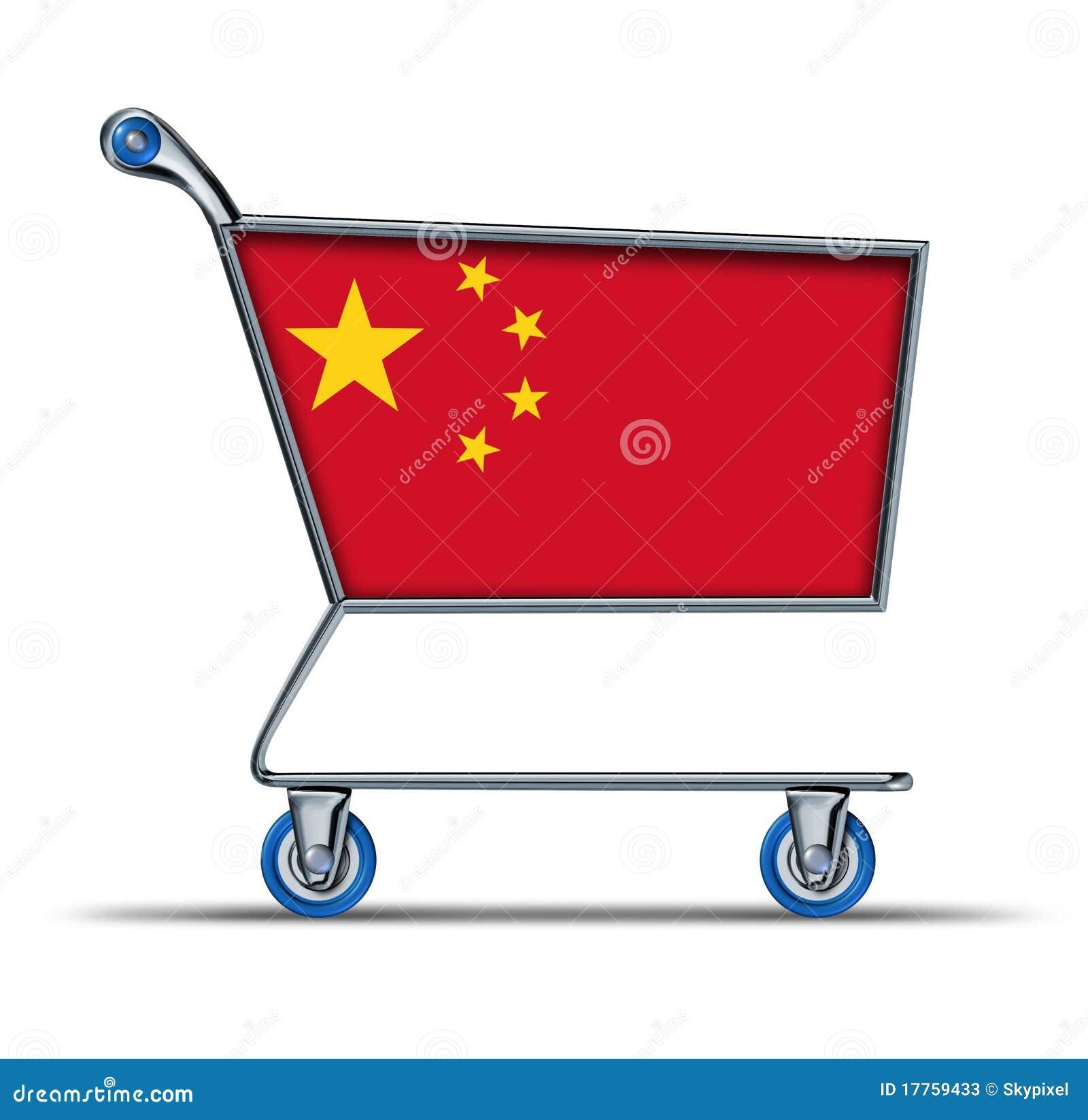 Caddie en surplus de déficit du marché commercial de la Chine
