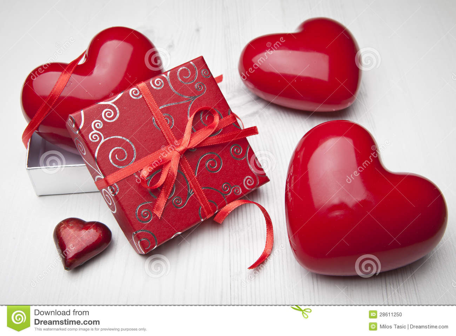 Cadeau d amour. Jour de Valentines