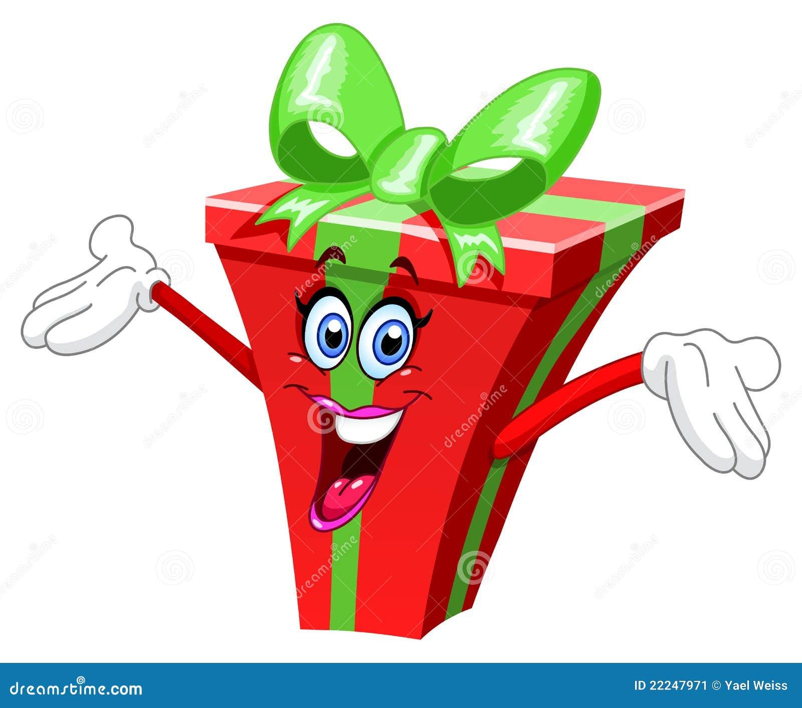 Подарить подарок шутливо