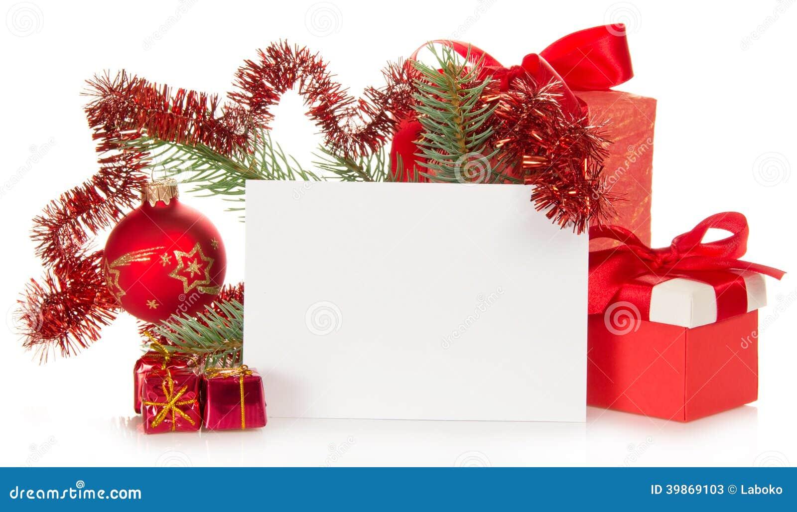 Cadeaux De Noël, Branche De Sapin Décorée Par Des Jouets Image