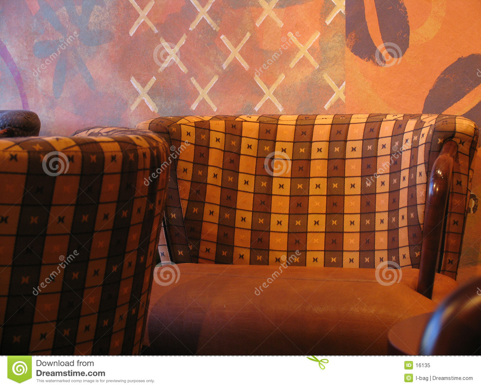 Cadeira da cafetaria