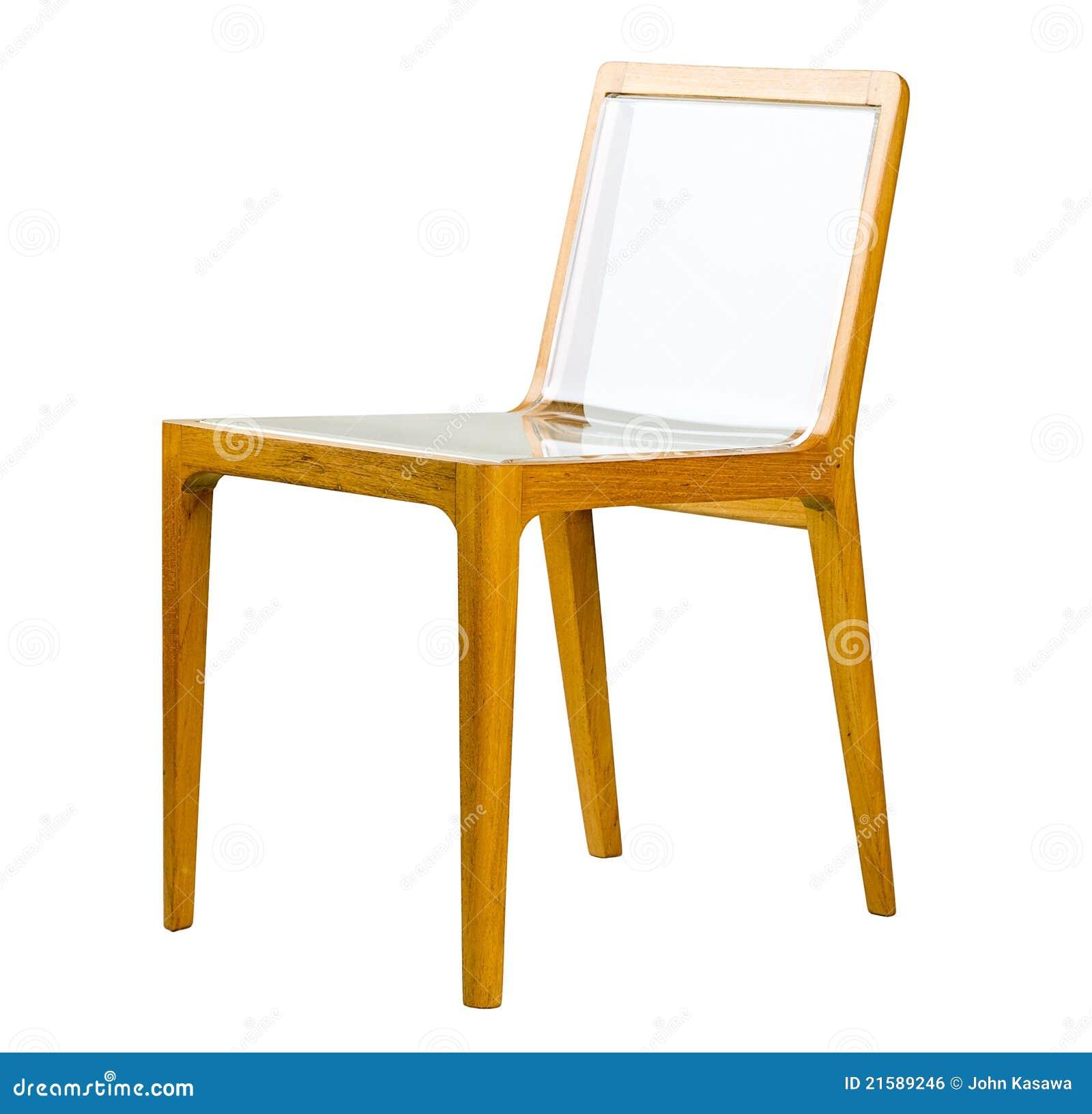 Cadeira De Madeira Acrílica Imagem de Stock Royalty Free Imagem  #864B02 1300x1343