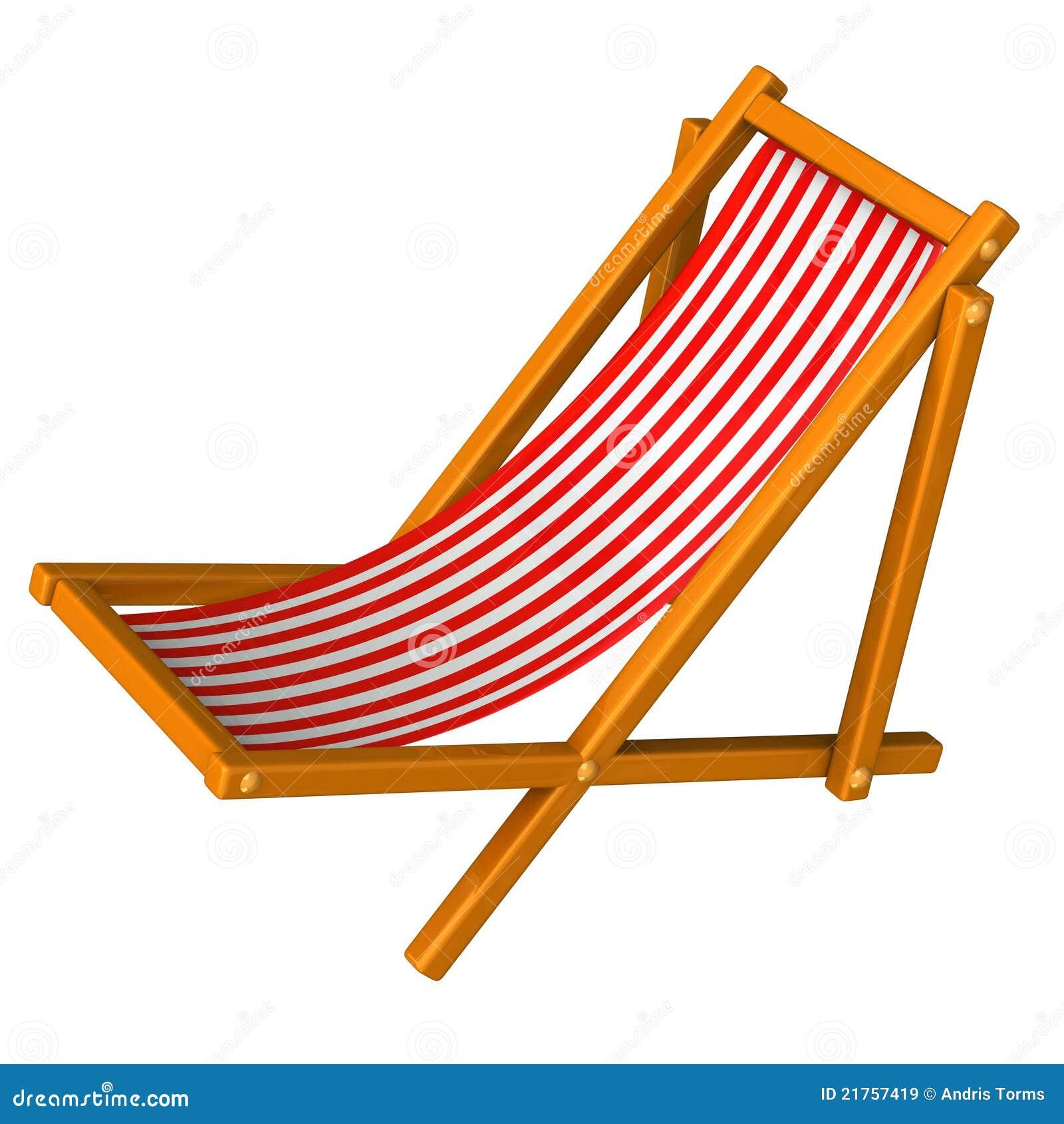 Cadeira De Praia Vermelha 3d Imagens de Stock Royalty Free Imagem  #903E07 1300x1390