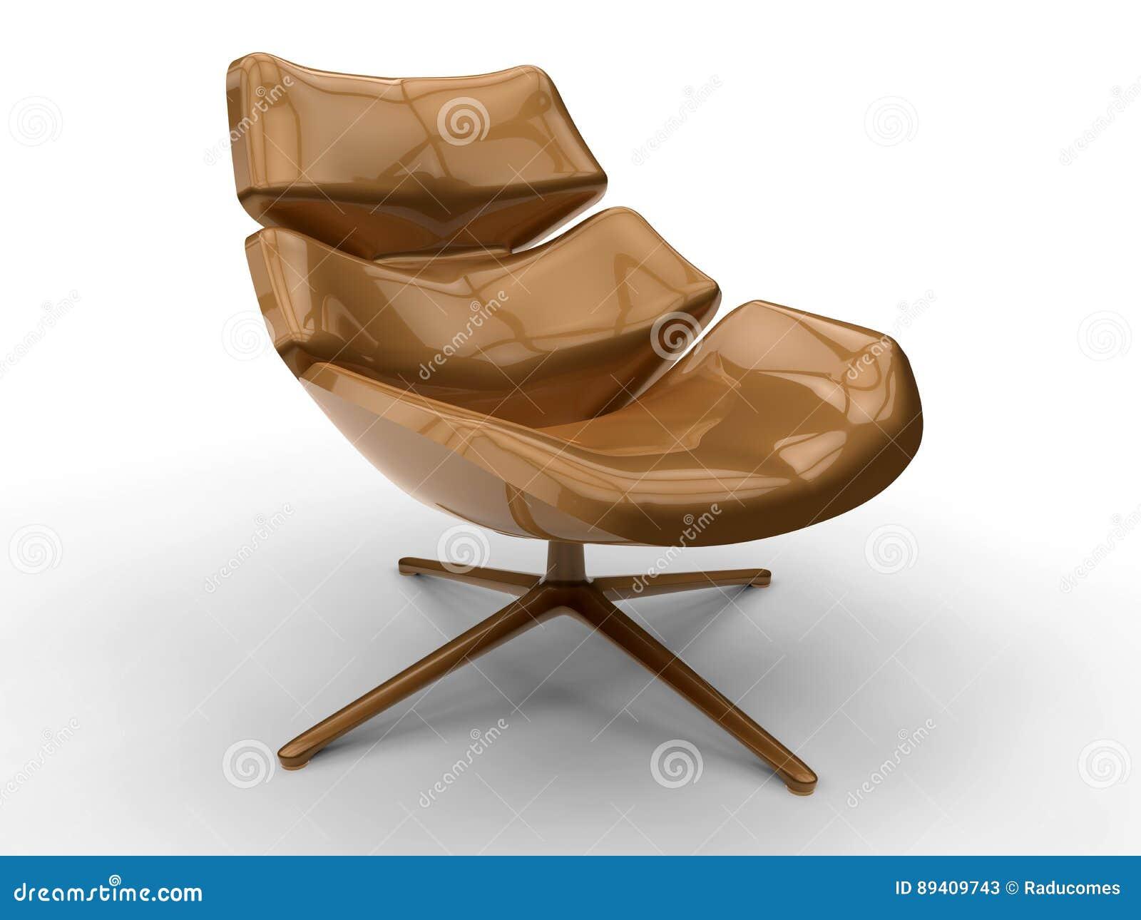 Cadeira de sala de estar moderna