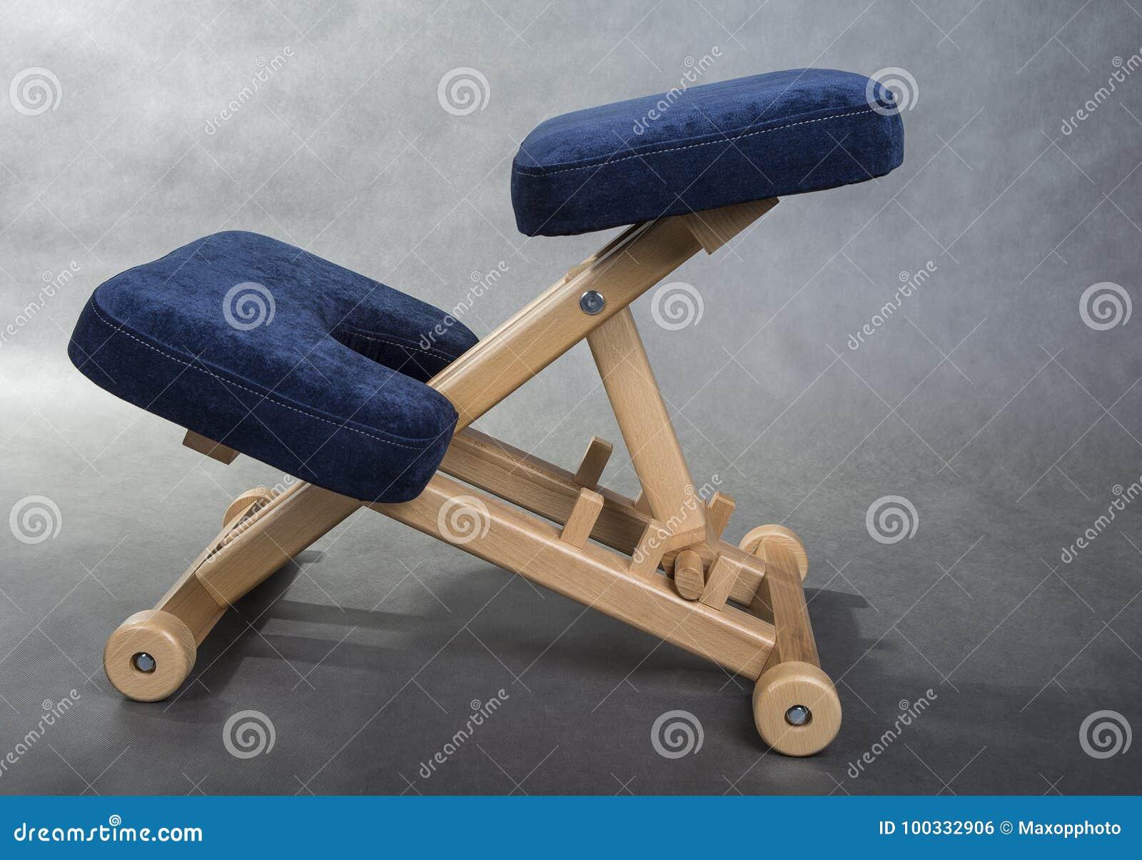 Cadeira do ajoelhamento para o assento saudável Apoio da cadeira do joelho sua parte traseira
