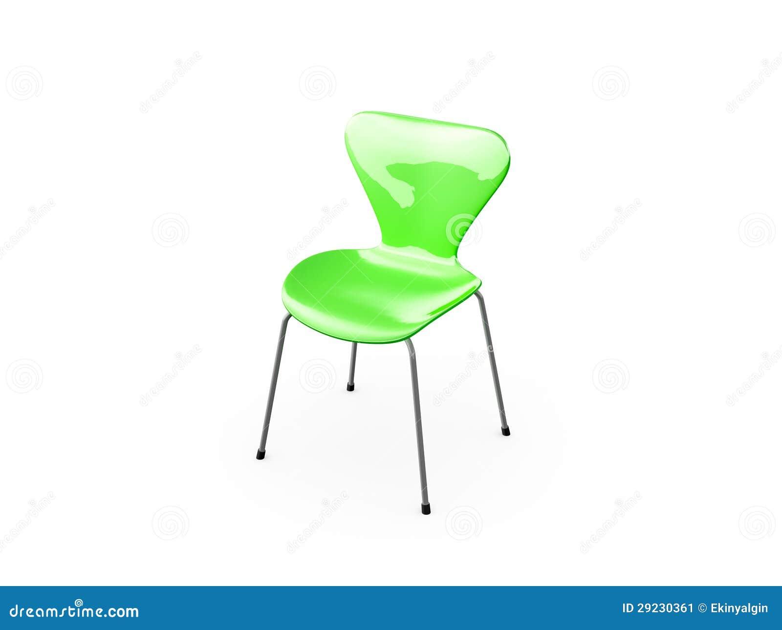 Download Cadeira verde ilustração stock. Ilustração de home, relaxe - 29230361