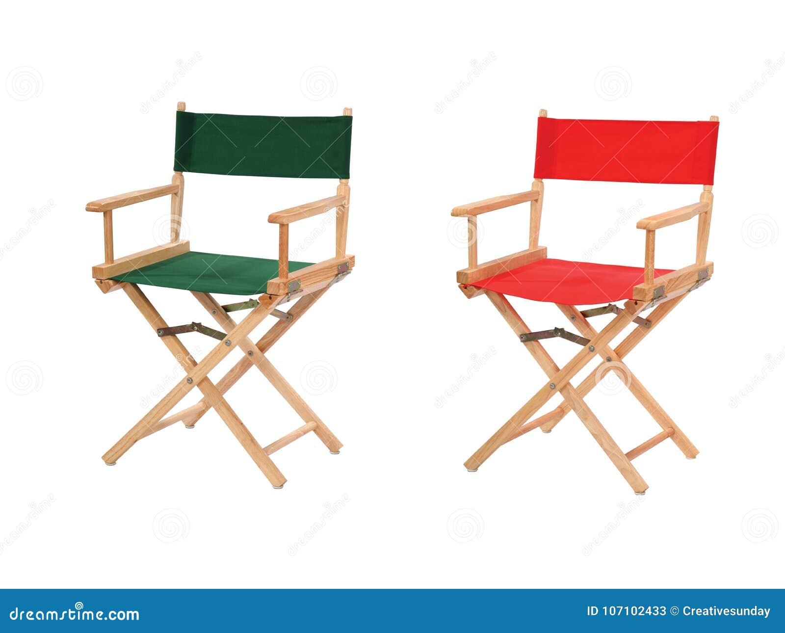 Cadeiras do diretor isoladas