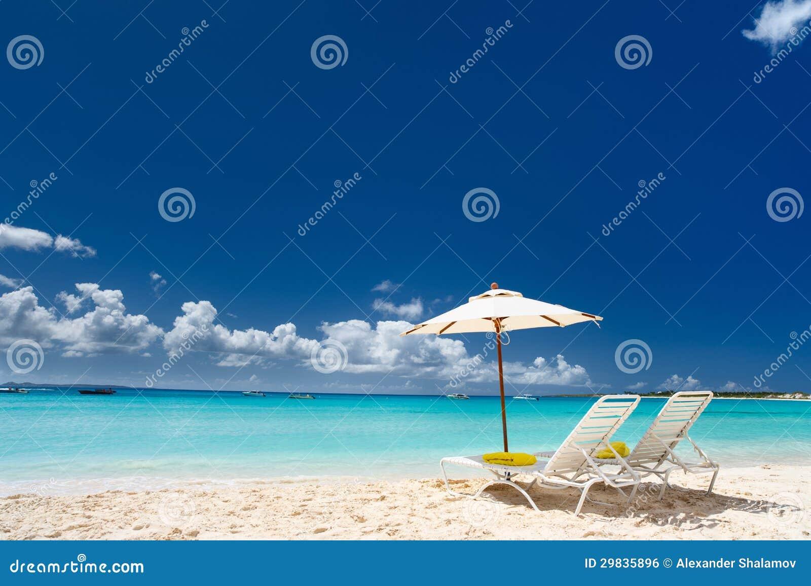 Praia das caraíbas bonita