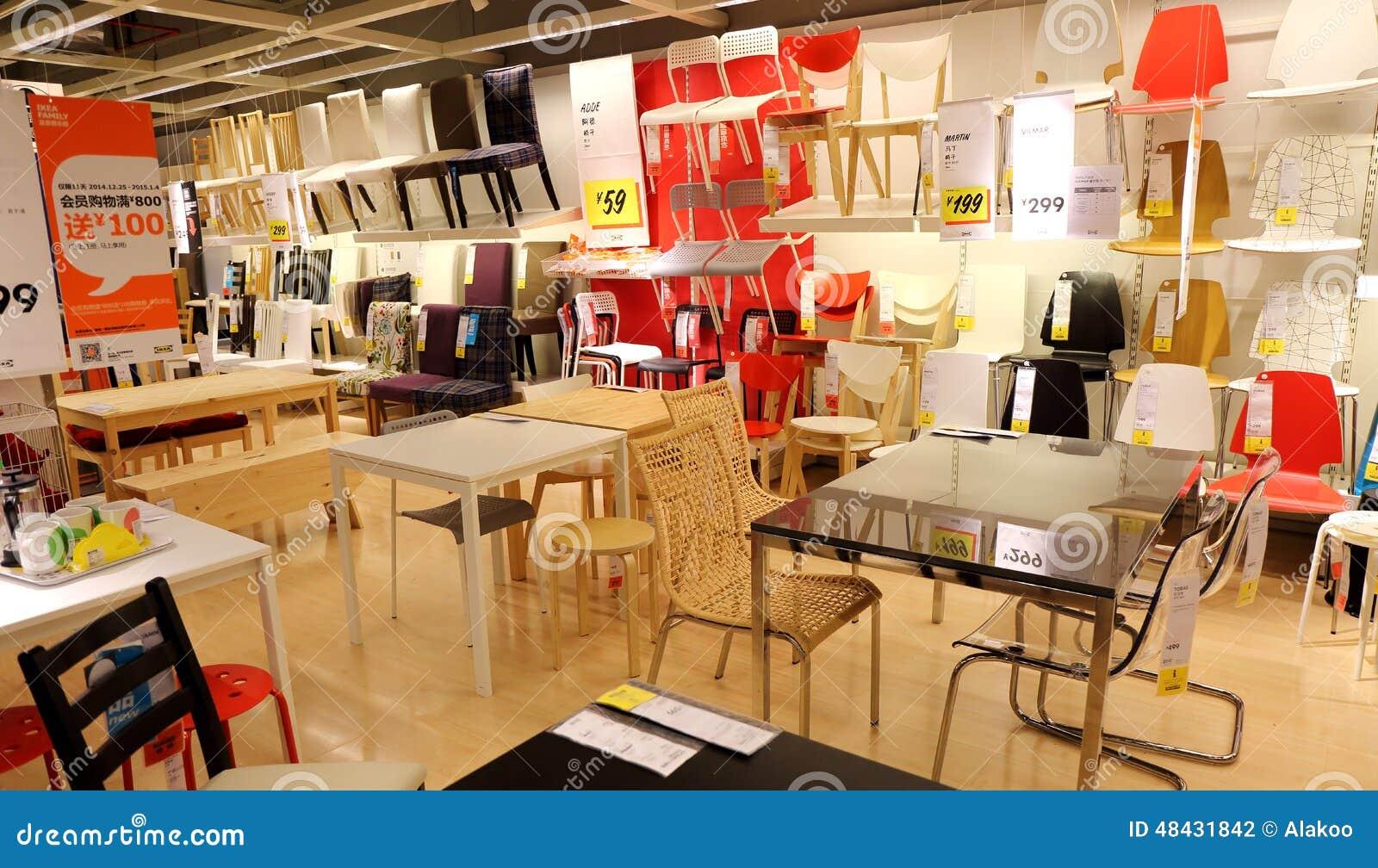 Cadeiras e mesas no supermercado da mob lia do ikea loja for Mobilia download