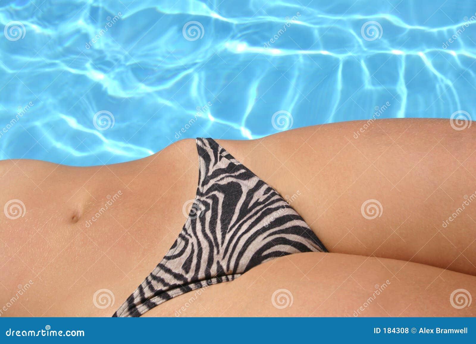 Caderas de la piscina