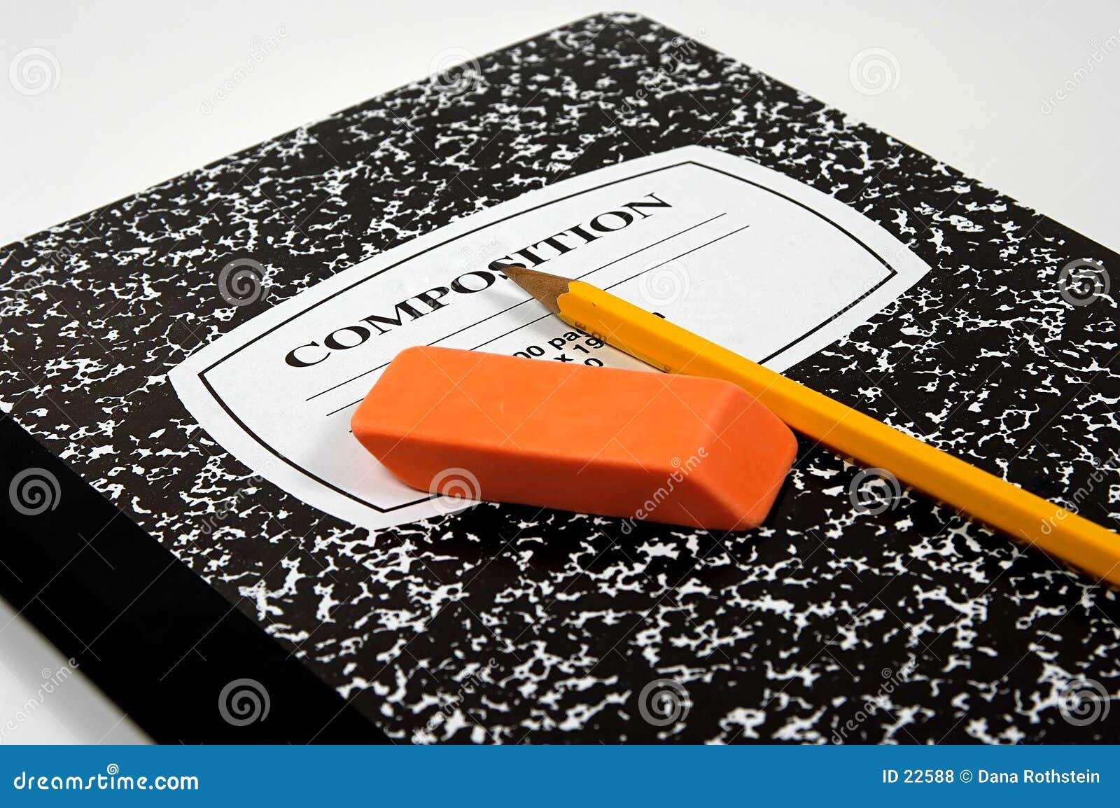 Caderno da composição