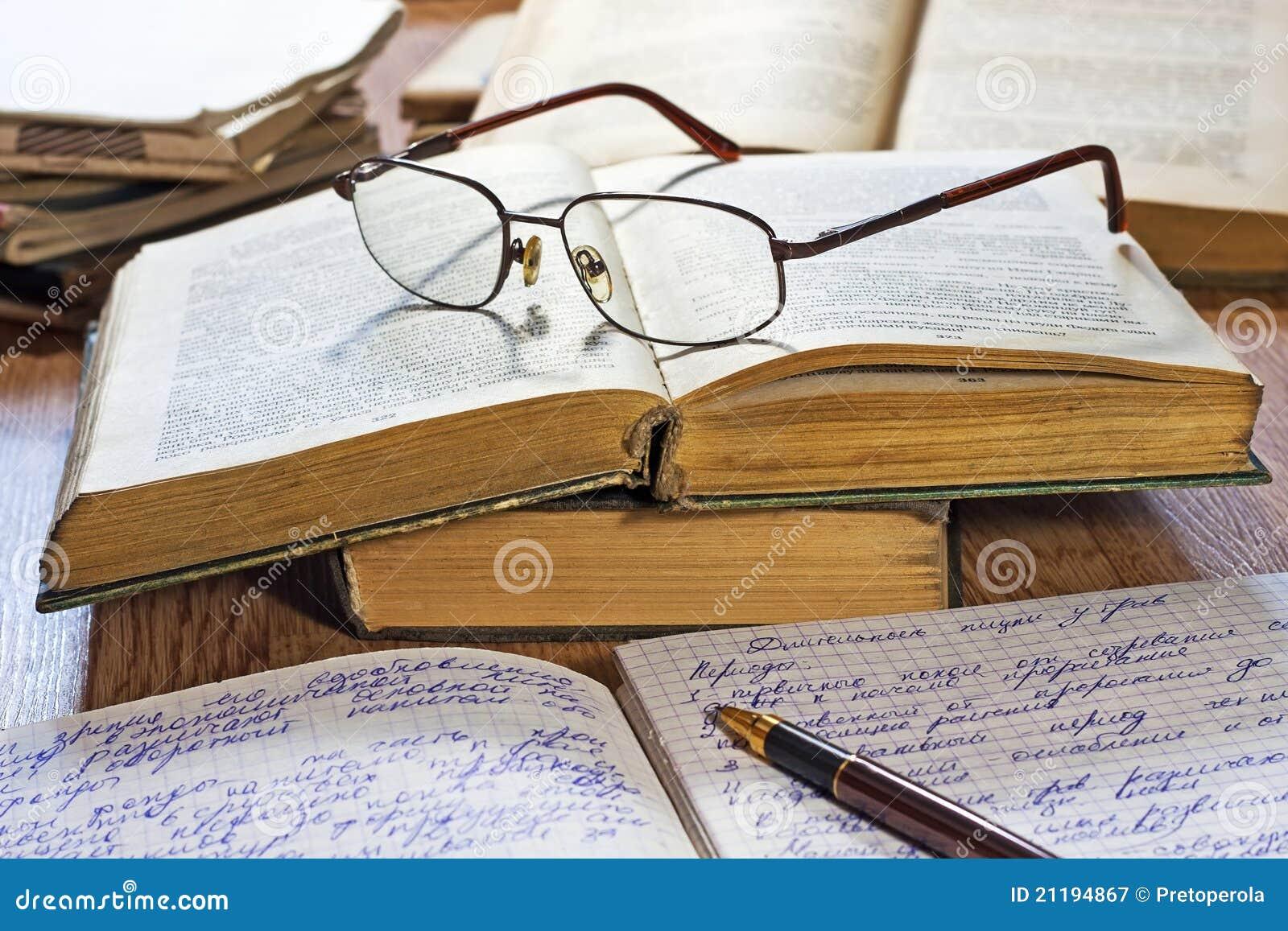 Importancia del libro caderno-pena-livros-