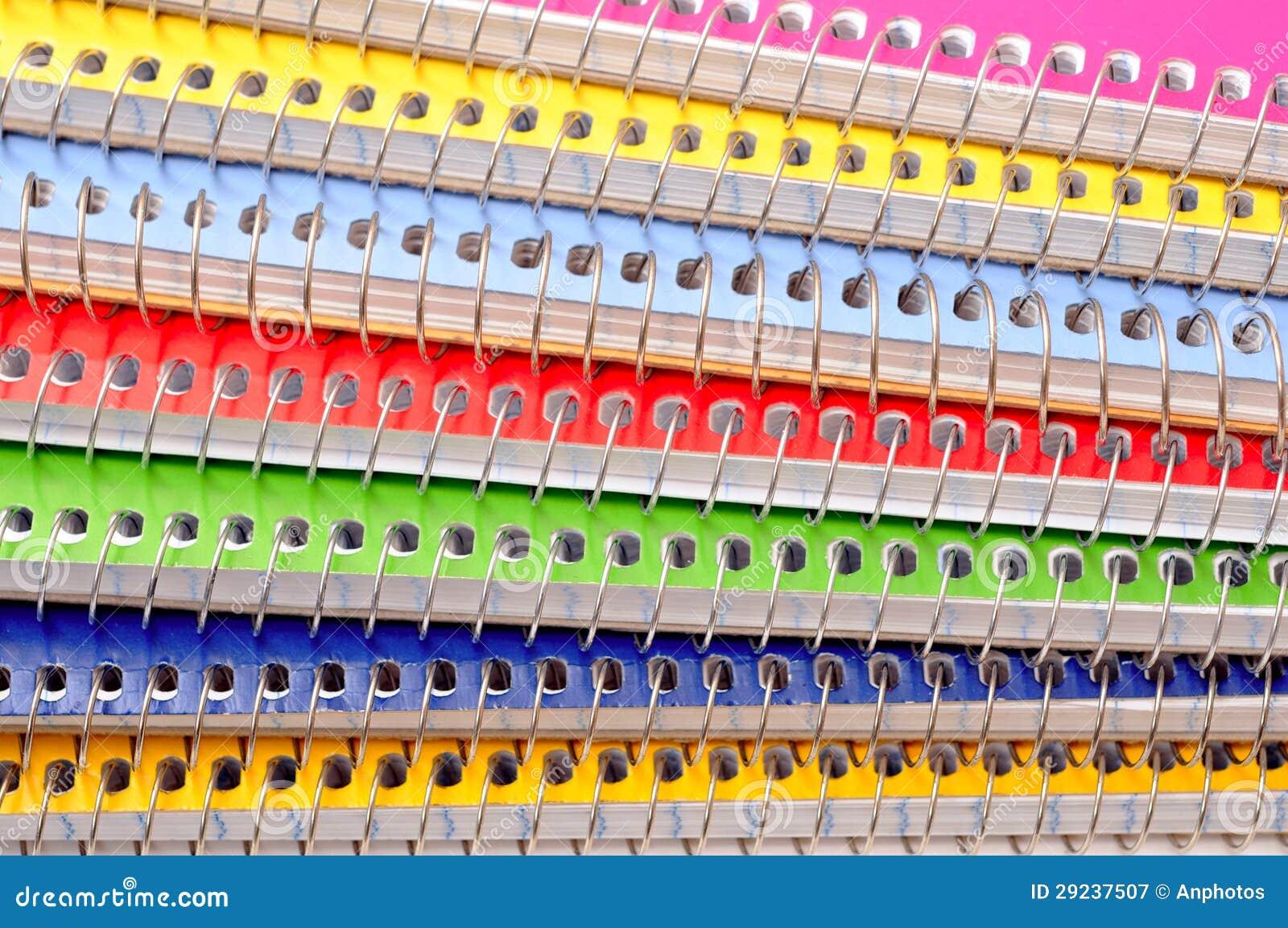 Download Cadernos coloridos imagem de stock. Imagem de papel, conhecimento - 29237507
