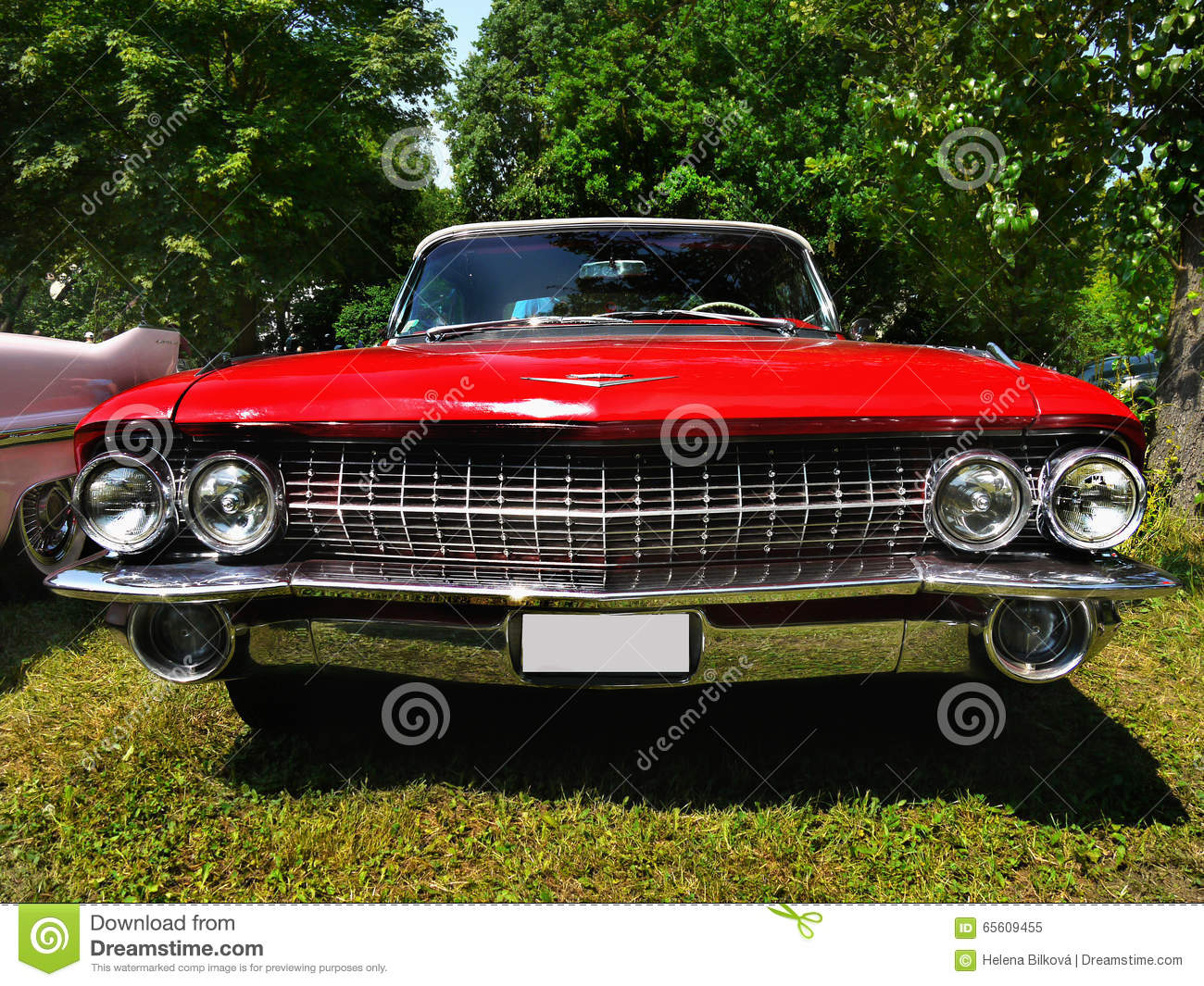Cadillac classic american vintage cars editorial image for American and classic cars