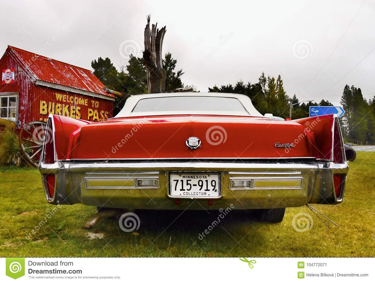 Cadillac Classic American Vintage Cars Editorial Photo Image Of