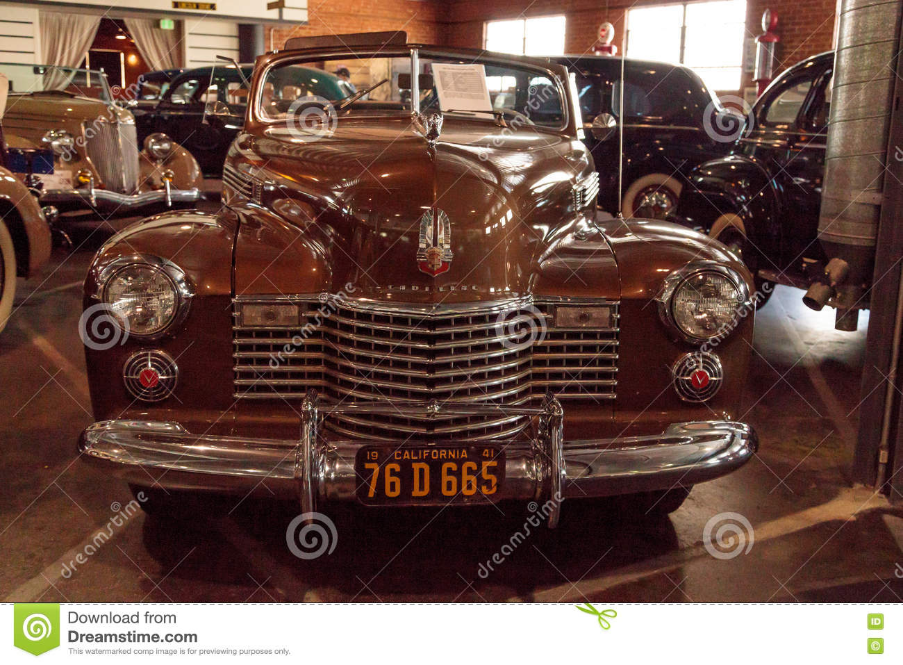 2016 Cadillac Convertible >> 1941 Cadillac Convertible Coupe Editorial Photo Image Of
