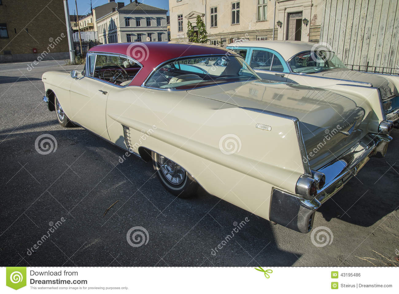 1957 Cadillac Coupe Deville Editorial Photo Image Of 1954 Download Ancient 43195486
