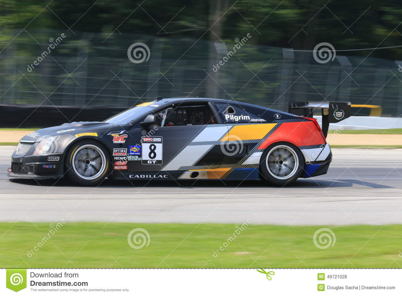 2010 Cadillac CTS V Coupe Race Car photo - 1