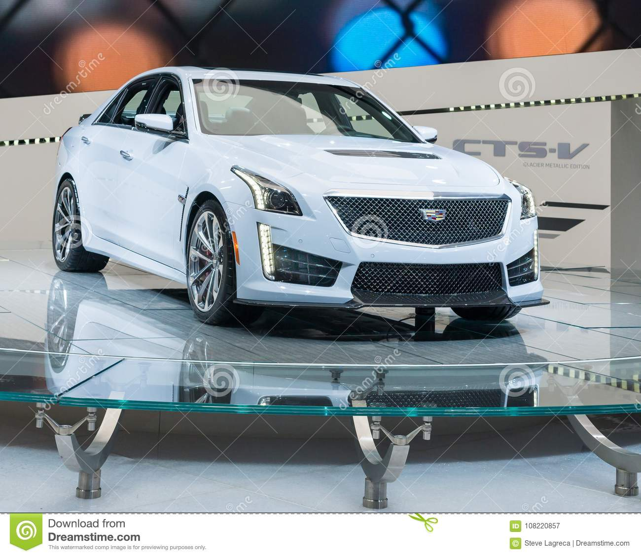 Cadillac 2018 Cts V Sedan: 2018 Cadillac CTS-V Limited Edition, NAIAS Editorial