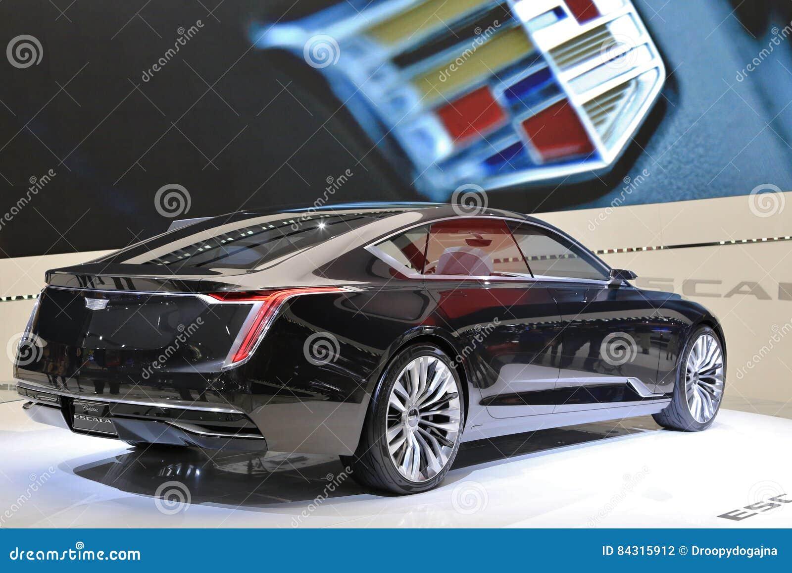New Vehicles 2017 >> Cadillac On Display At The 2017 North American International