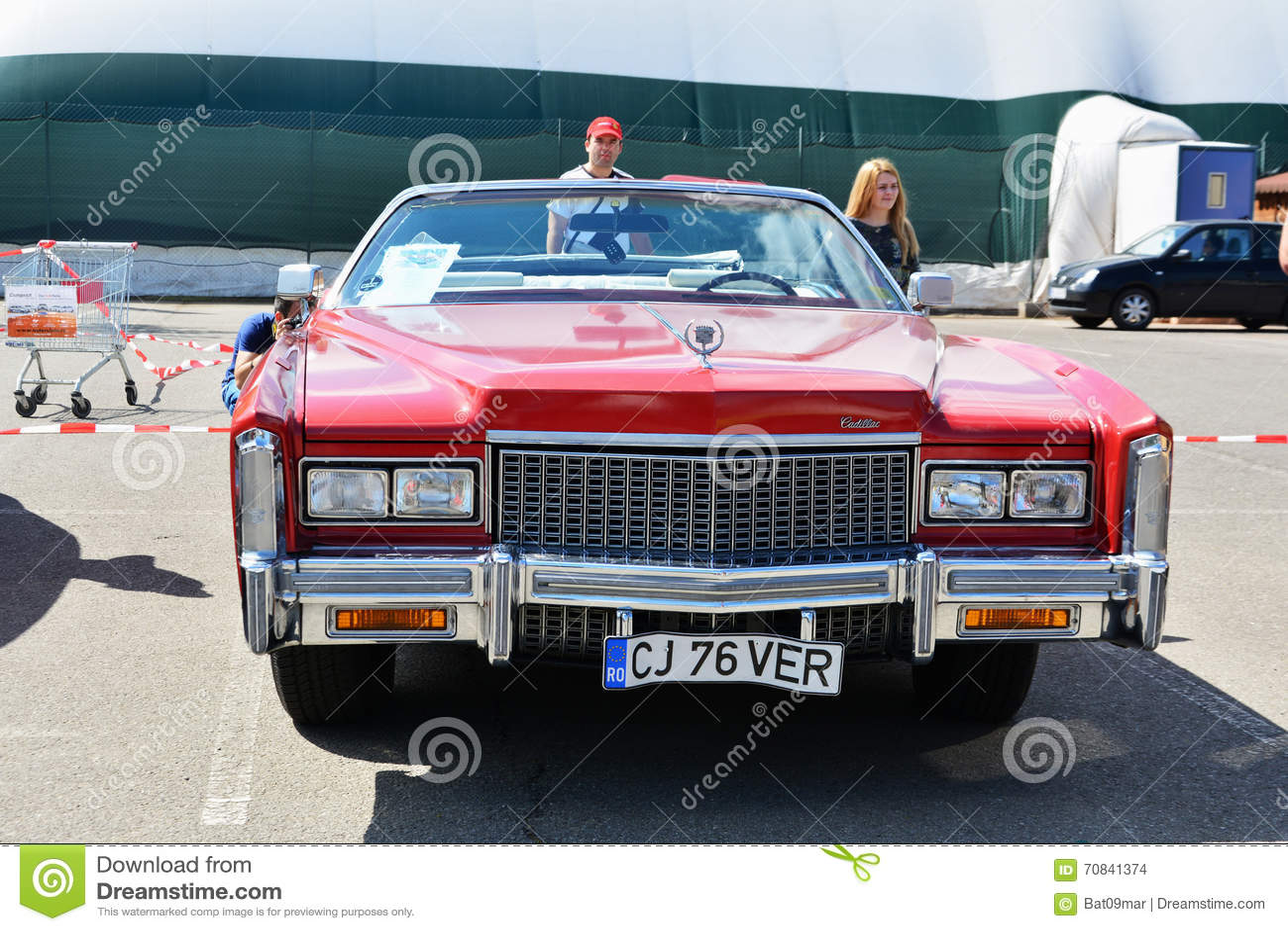 2016 Cadillac Convertible >> Cadillac Eldorado Convertible 1976 Editorial Stock Image Image Of