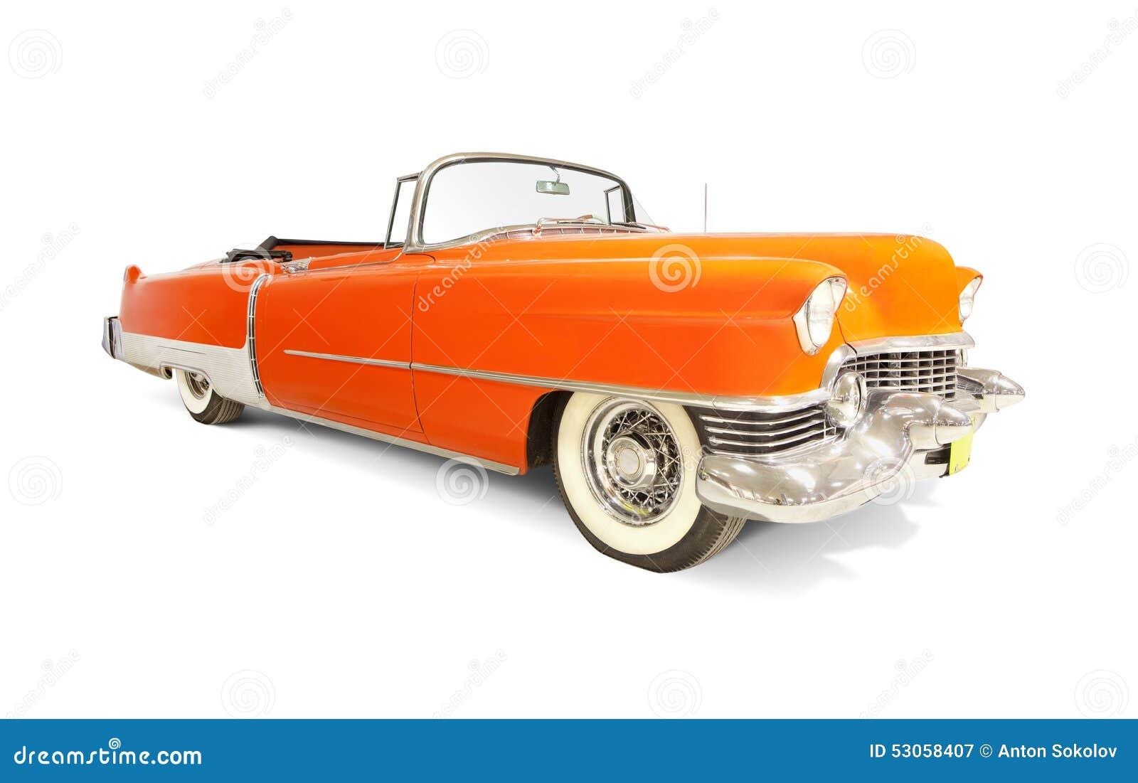 Cadillac Eldorado 1954 Stock Image Of Isolated 53058407 El Dorado