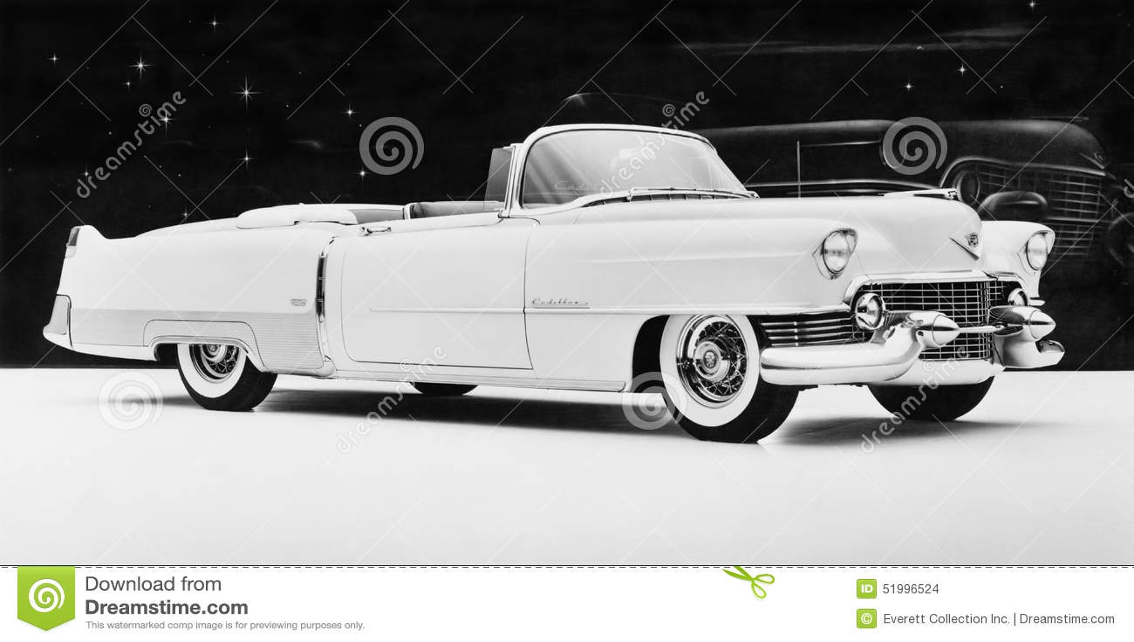 Cadillac 1954 Eldorado (toutes les personnes représentées ne sont pas plus long vivantes et aucun domaine n existe Garanties de f