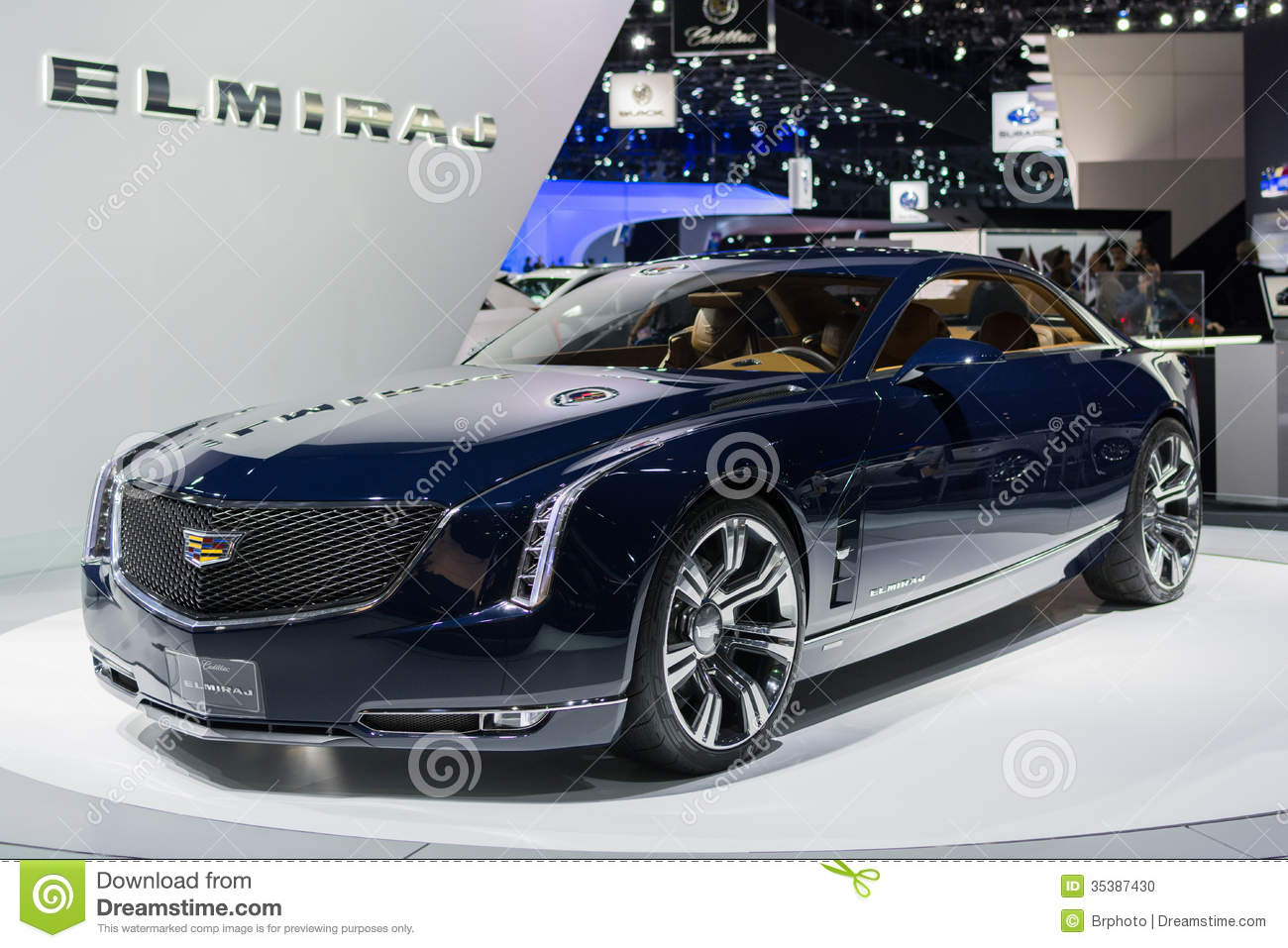 Cadillac Elmiraj Car On Display At The LA Auto Show Editorial Image - Car show los angeles ca