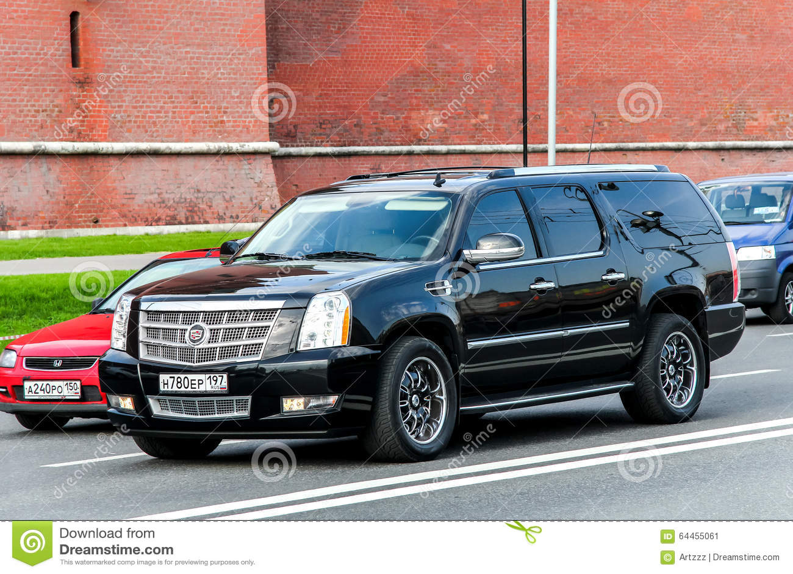 Cadillac Escalade Editorial Photo Image Of Dark Crossover 64455061