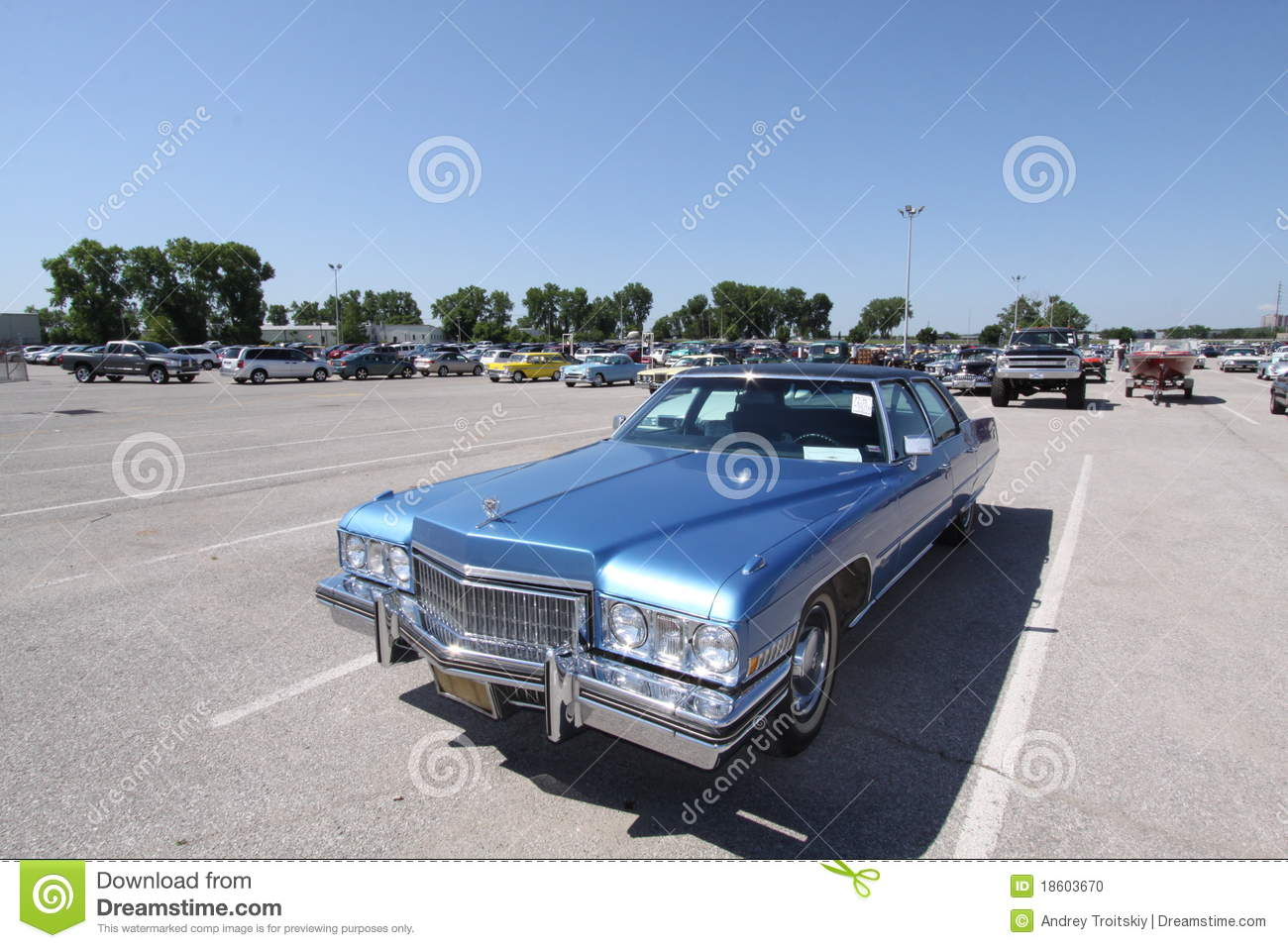 1973 Cadillac Fleetwood Brougham For Sale >> Cadillac Fleetwood Sixty Special Brougham Editorial Image | CartoonDealer.com #18603670