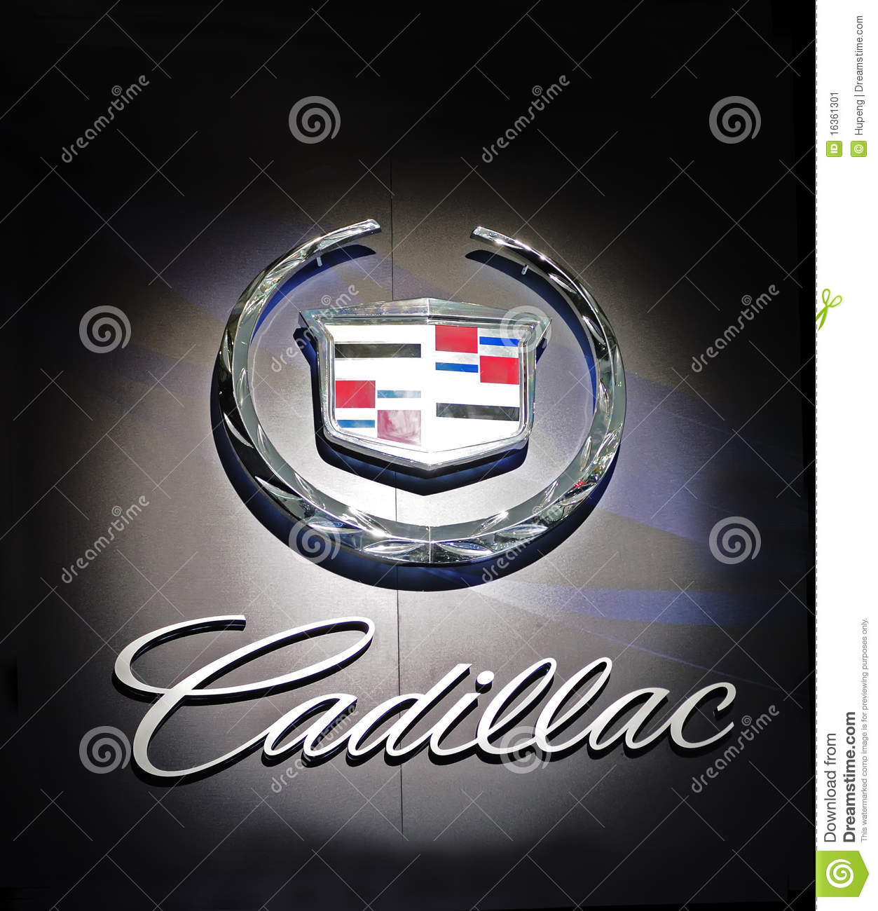 Cadillac Logo Editorial Photo Image Of Motorshow Luxury 16361301