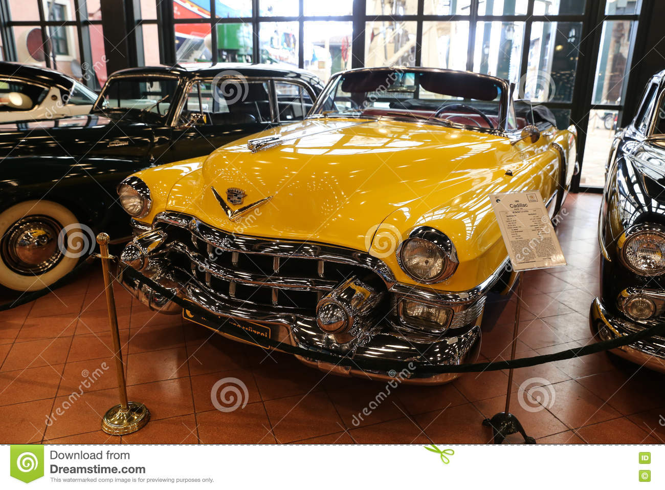 1953 Cadillac Series 62 Convertible Editorial Stock Photo Image Of 1951 Coupe