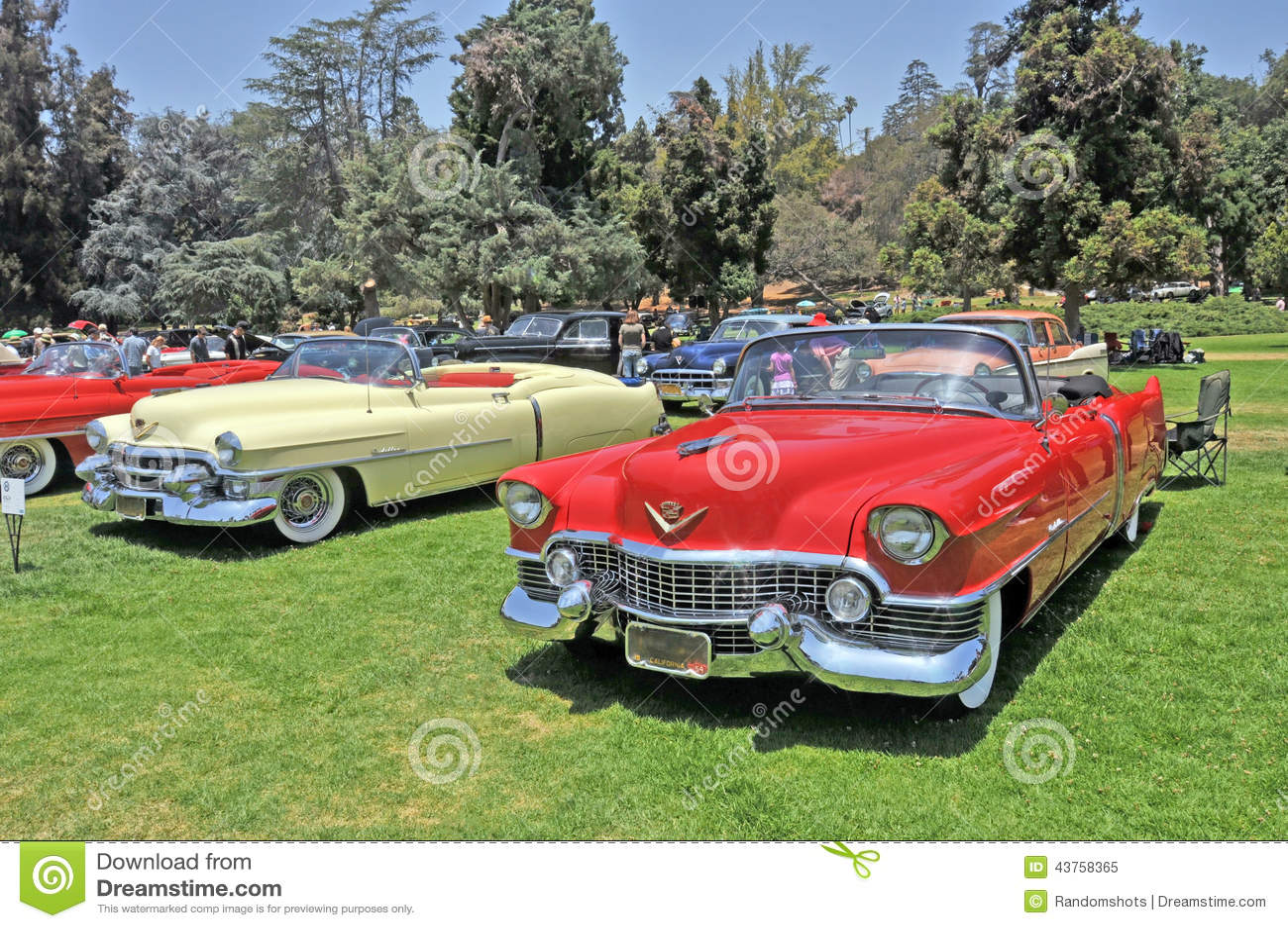 Cadillac Series 62 Editorial Image Of Auto Restoration 1954 Sedan Deville