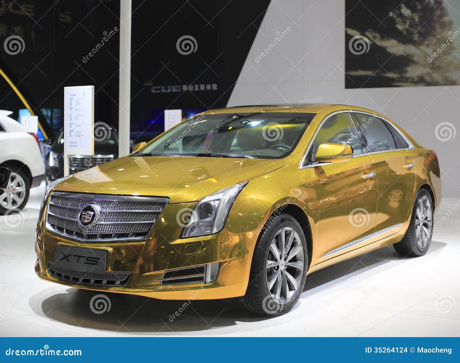 The Cadillac Xts Car Editorial Stock Image Image 35264124