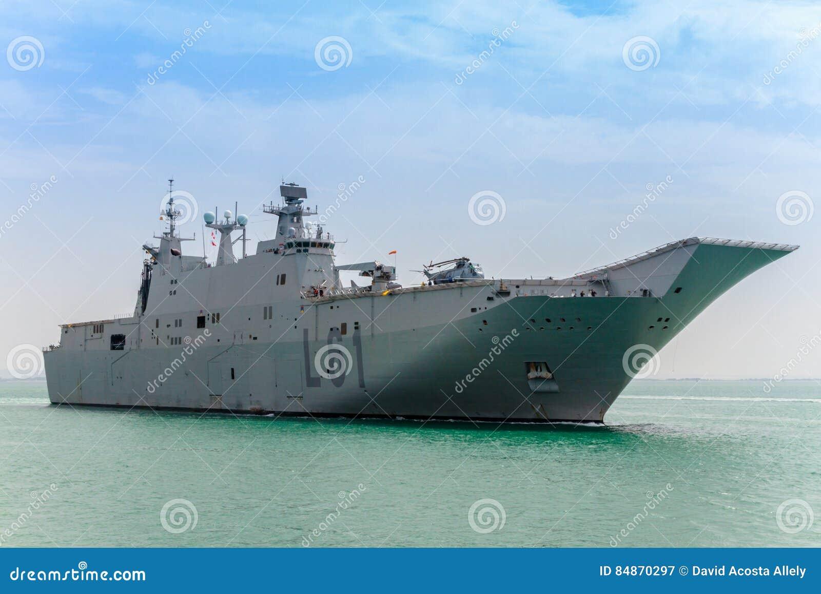 Aircraft Carrier L-61 Juan Carlos I Editorial Photography ...Spanish Aircraft Carrier Juan Carlos
