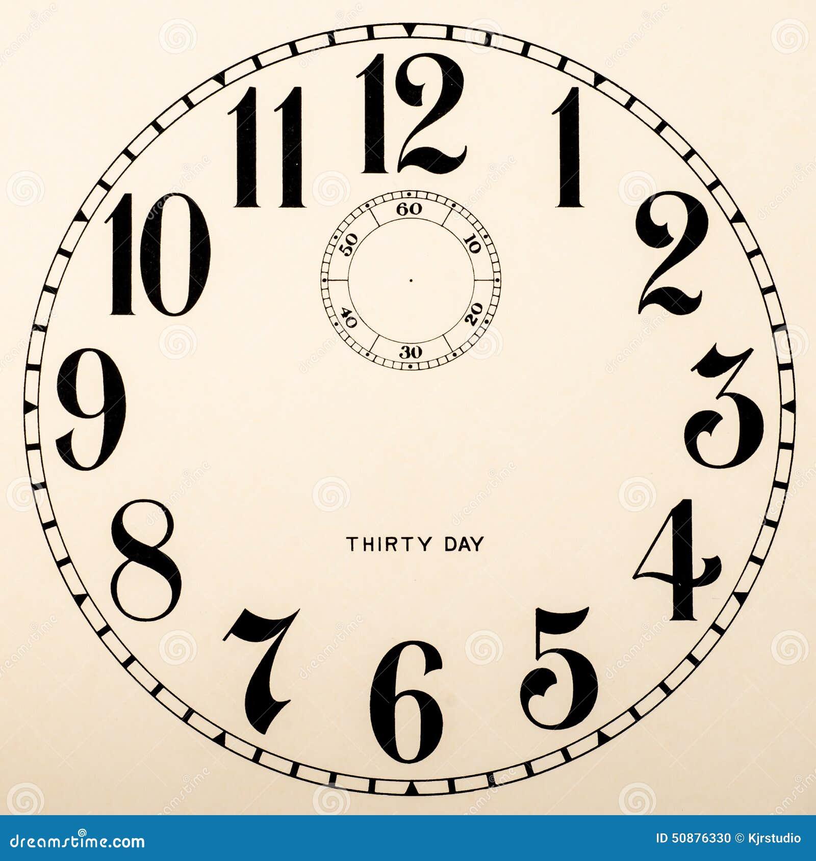 cadran d 39 horloge vide aucune mains photo stock image du countdown cercle 50876330. Black Bedroom Furniture Sets. Home Design Ideas