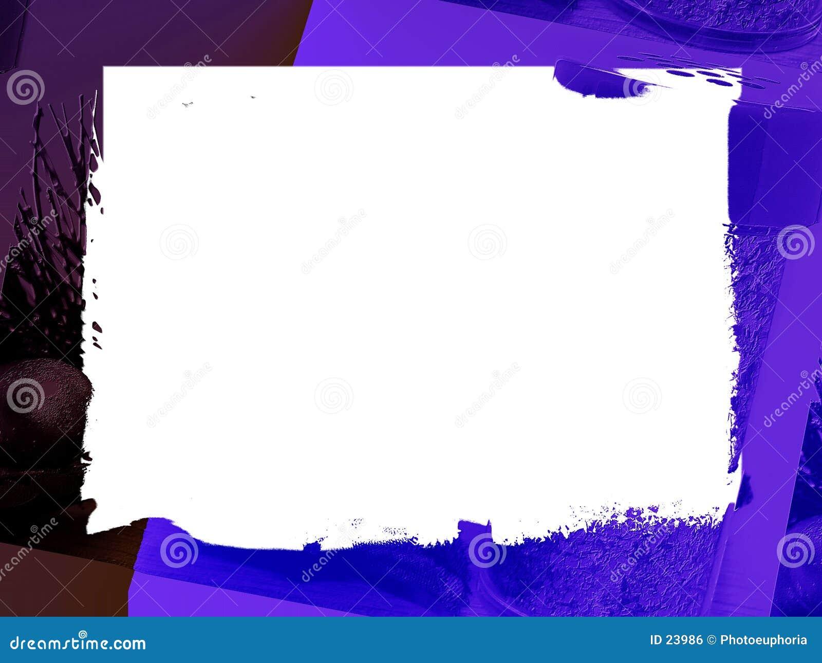 Cadre : Bleu de plomb