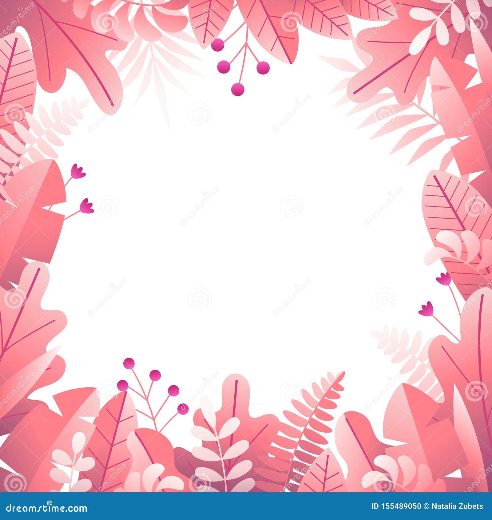Cadre carré floral 3