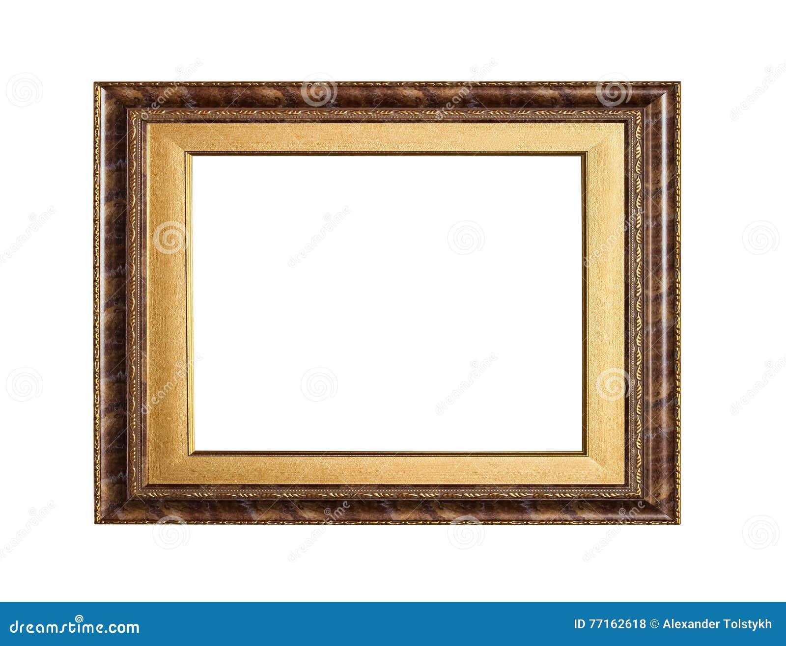 Cadre classique d or de toile de peinture
