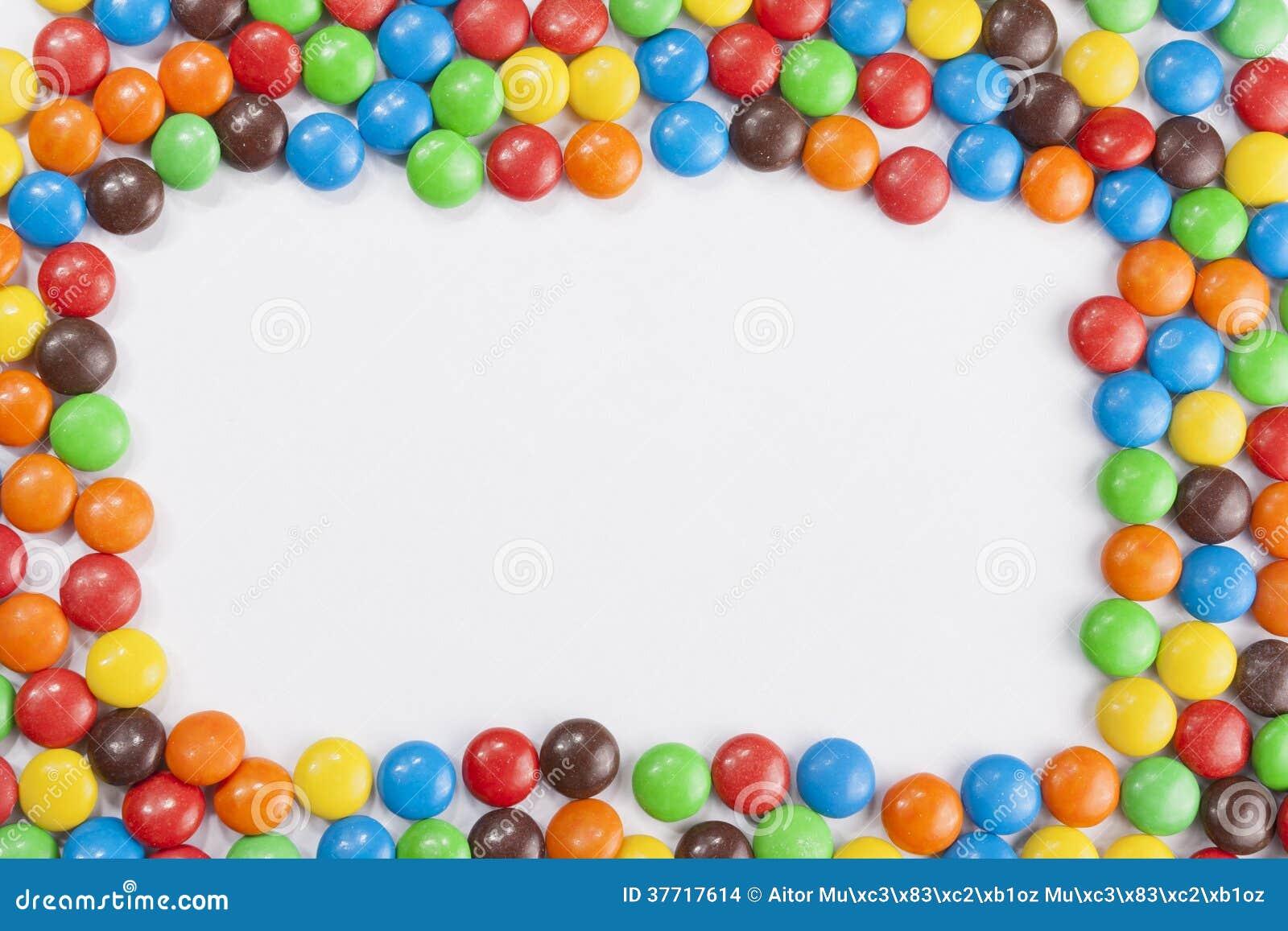 Cadre De Bonbons Au Chocolat Images Stock Image 37717614
