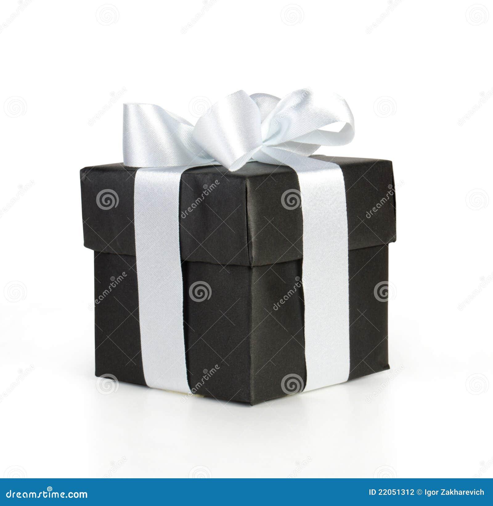 cadre de cadeau noir photo stock image du r ception 22051312. Black Bedroom Furniture Sets. Home Design Ideas