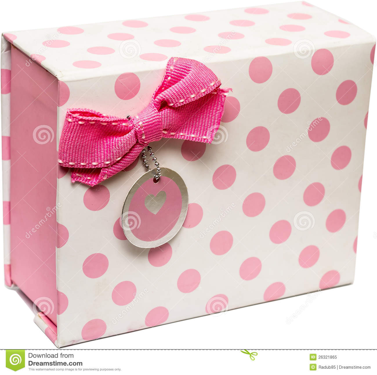 Cadre de cadeau rose