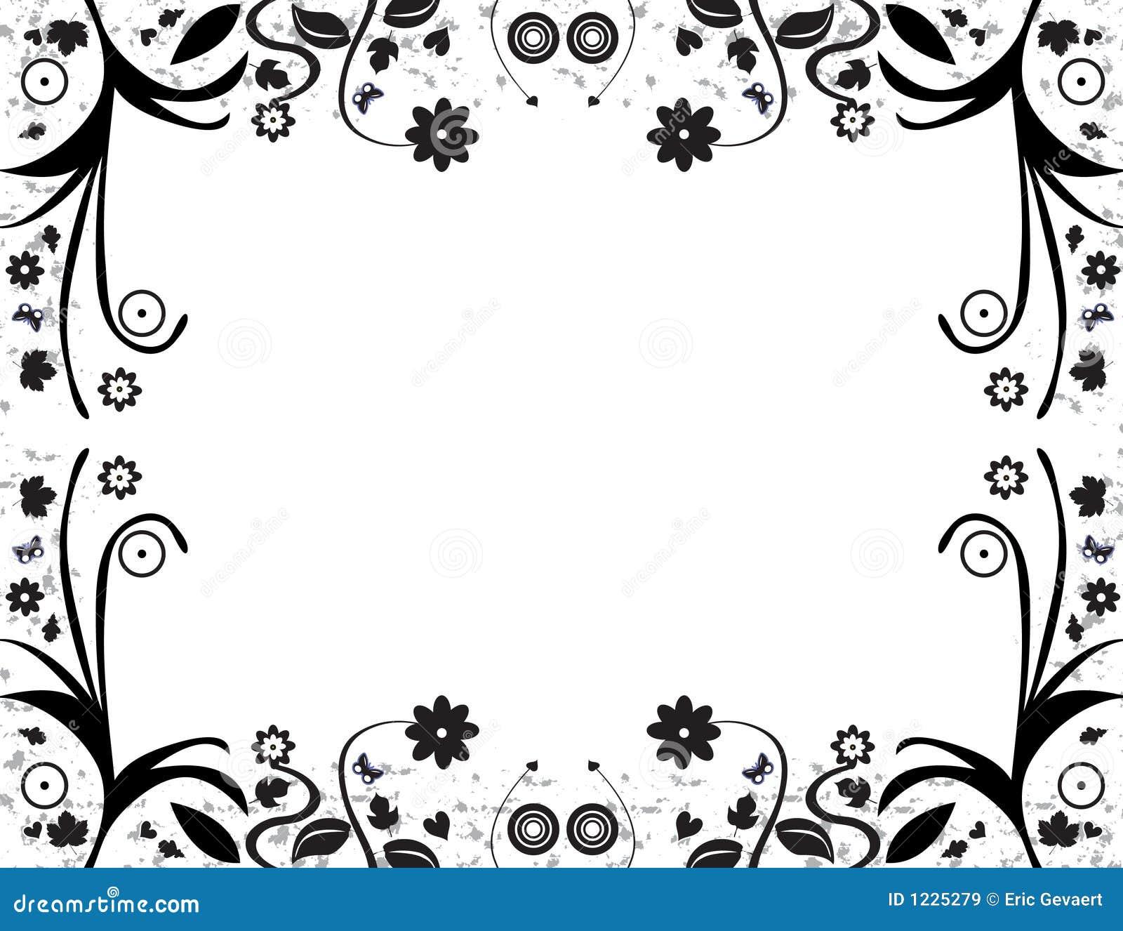 cadre de feuillage images libres de droits image 1225279. Black Bedroom Furniture Sets. Home Design Ideas