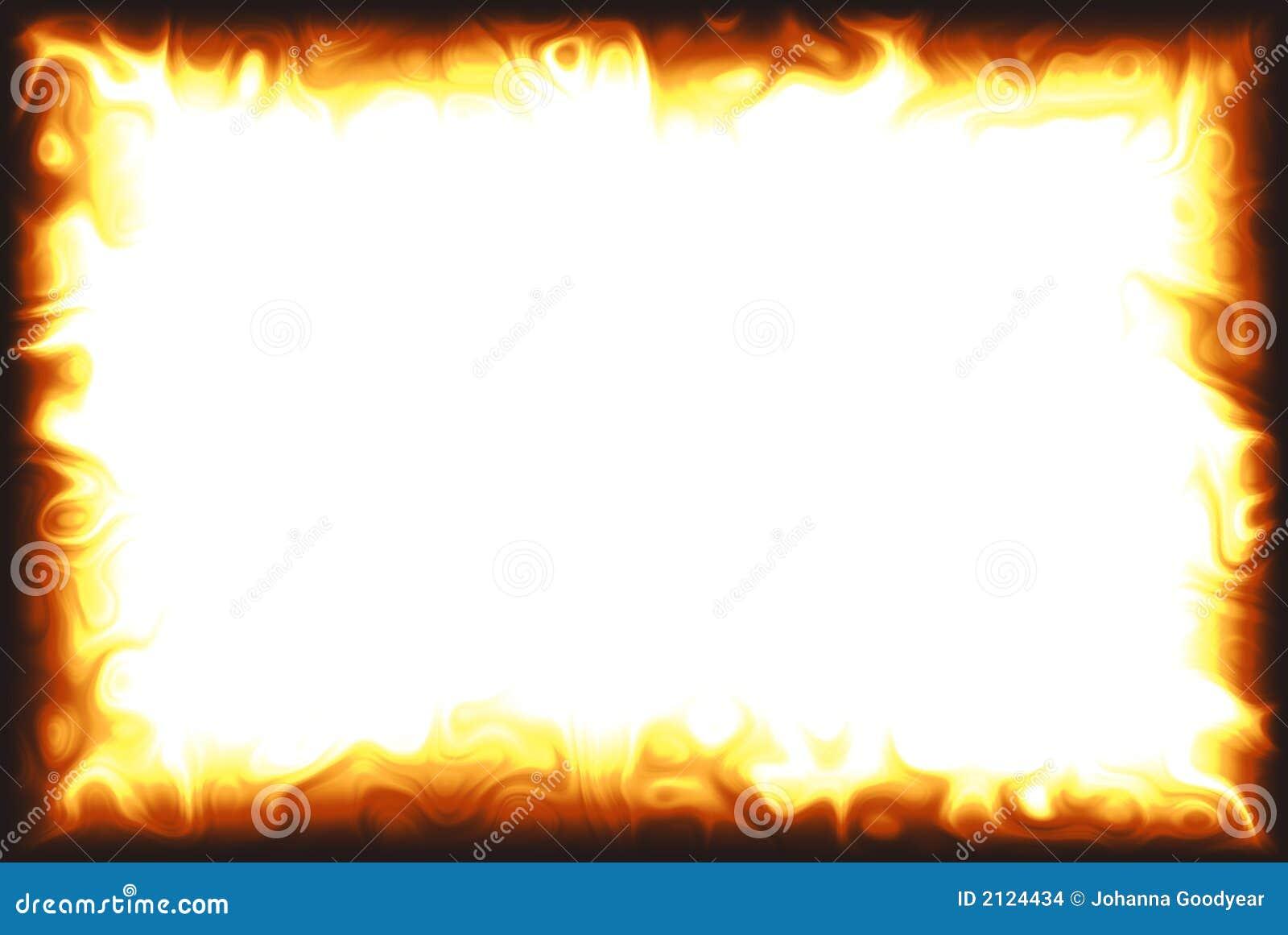cadre de flamme images stock image 2124434. Black Bedroom Furniture Sets. Home Design Ideas