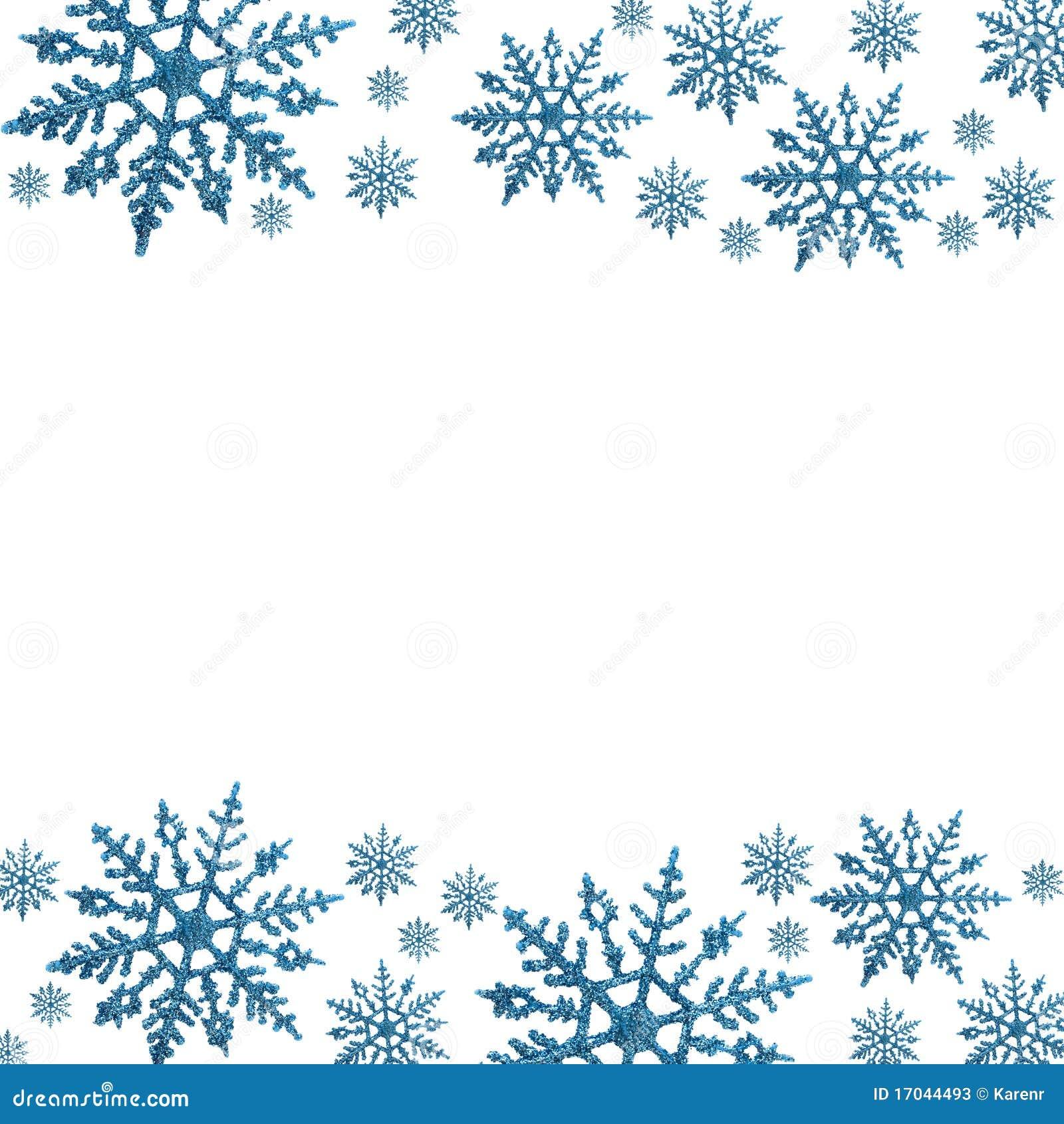 cadre de flocon de neige photos stock image 17044493